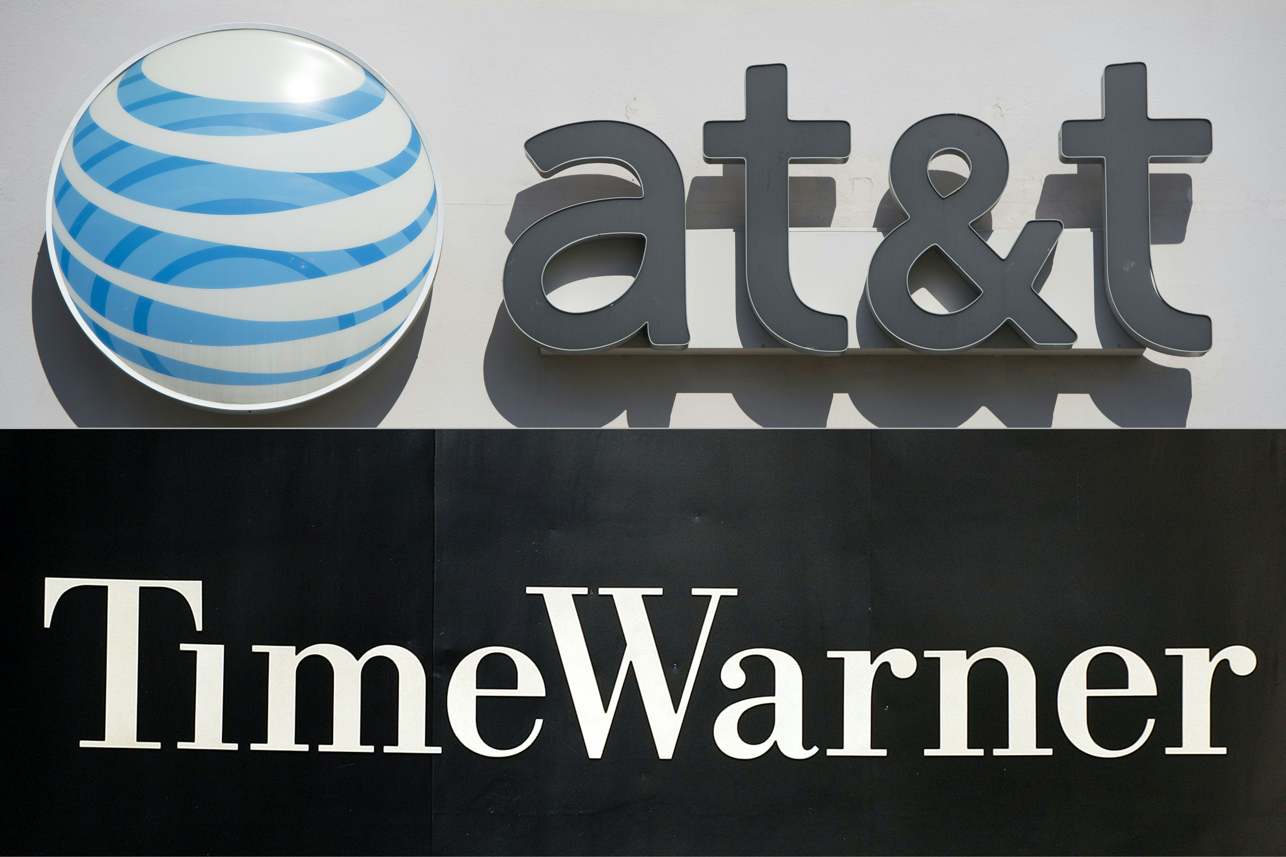 Telecom heavyweight AT&T has struck a deal to buy entertainment powerhouse Time Warner for $108.7 billion to create a  media-tech behemoth (file photo).