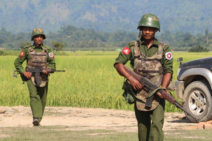 MYANMAR-BANGLADESH-UNREST