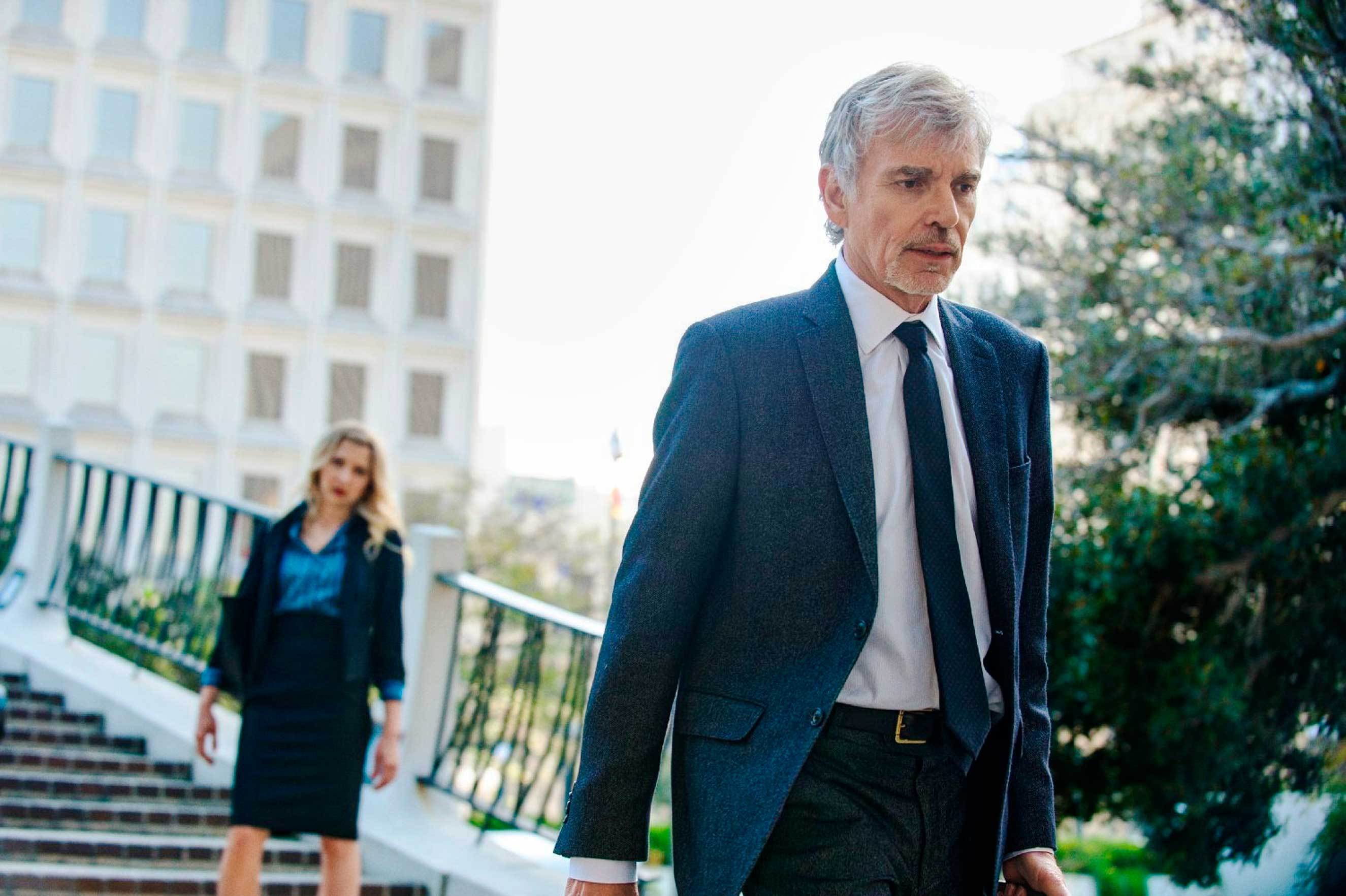 Billy Bob Thurton as Billy McBride in the legal tv series, Goliath
