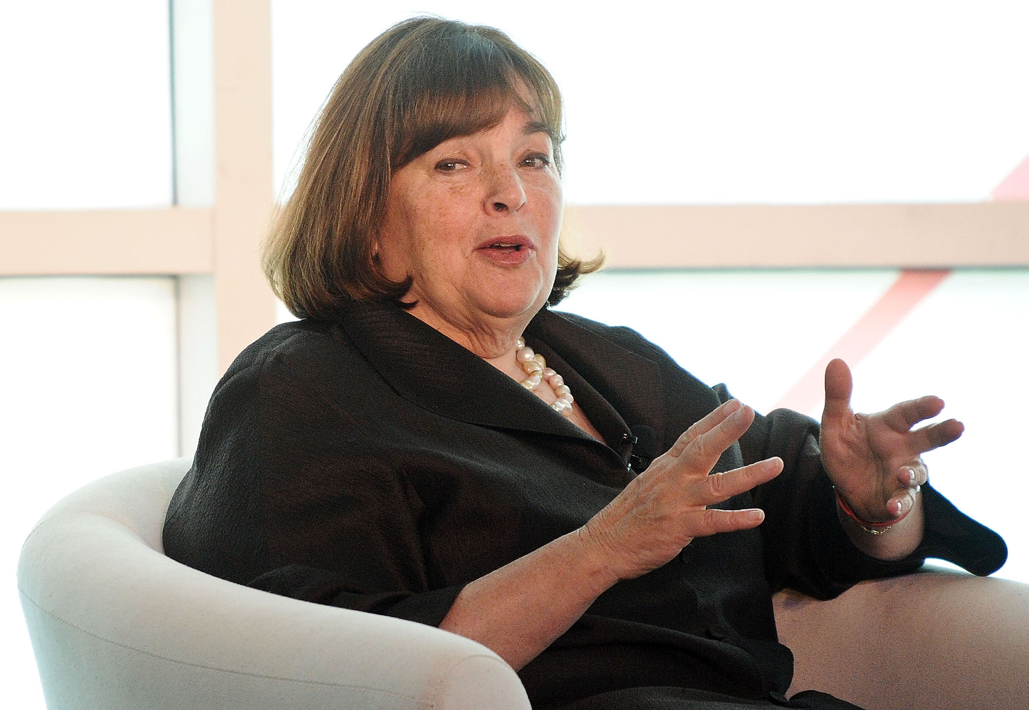 Ina Garten attends the 2015 Forbes Women's Summit: Transforming The Rules Of Engagement at Pier 60 on June 10, 2015 in New York City.  (Photo by Daniel Zuchnik/WireImage)