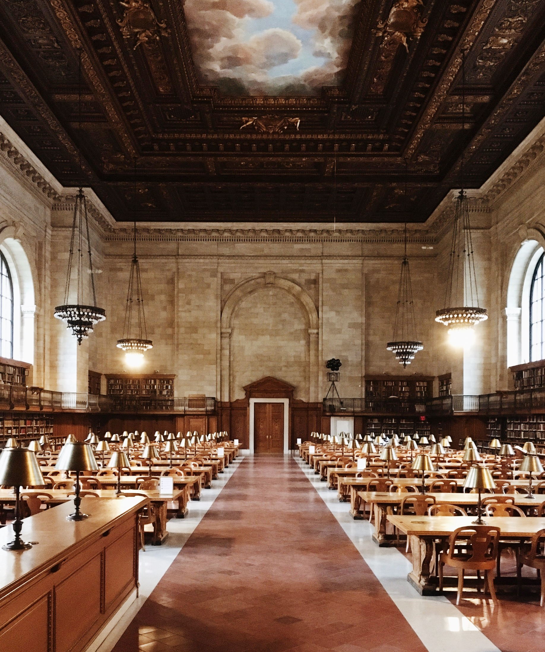 The renovated New York Public Library Rose Reading Room