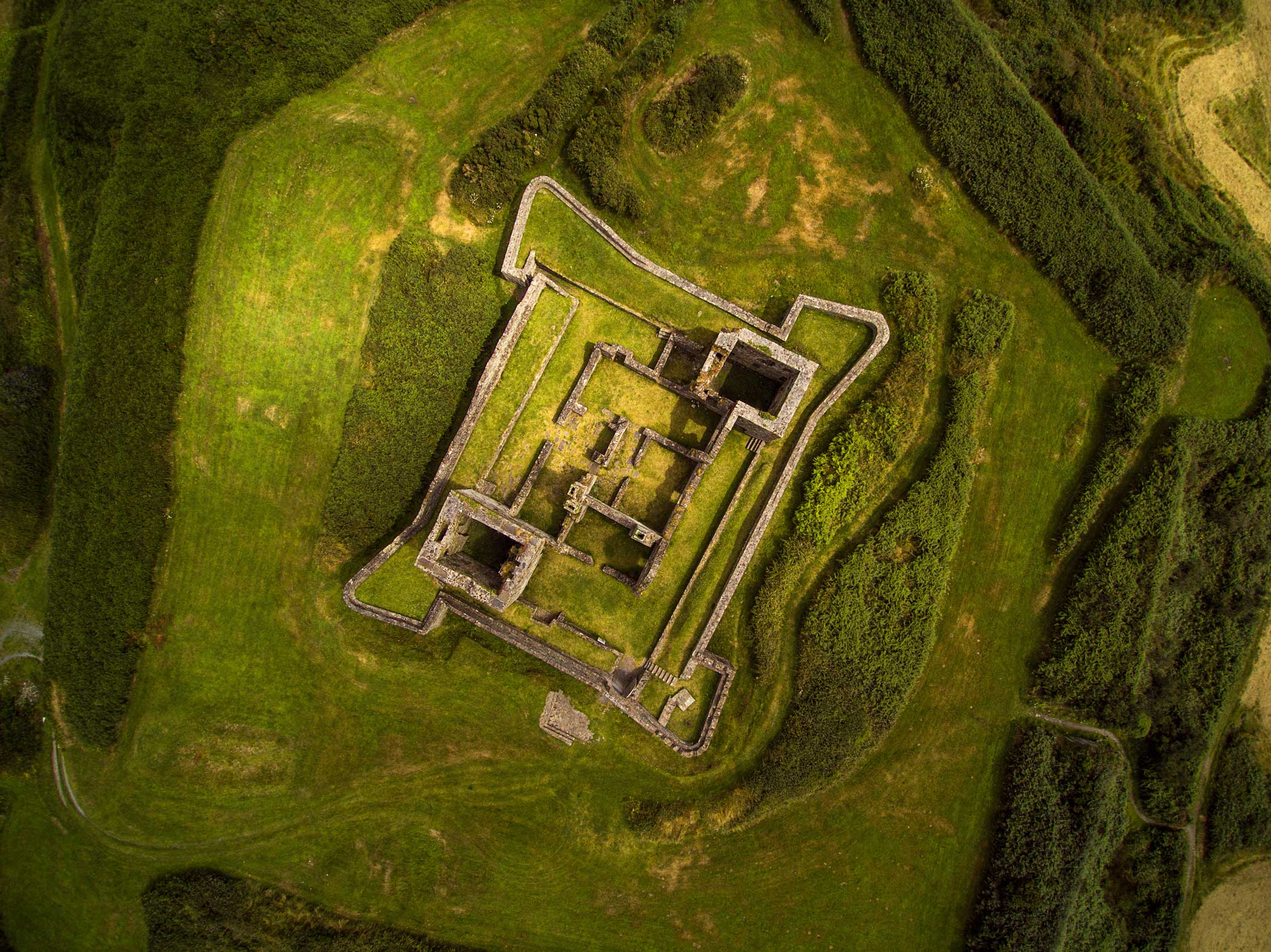 James Fort in Castlepark Village, Ireland.