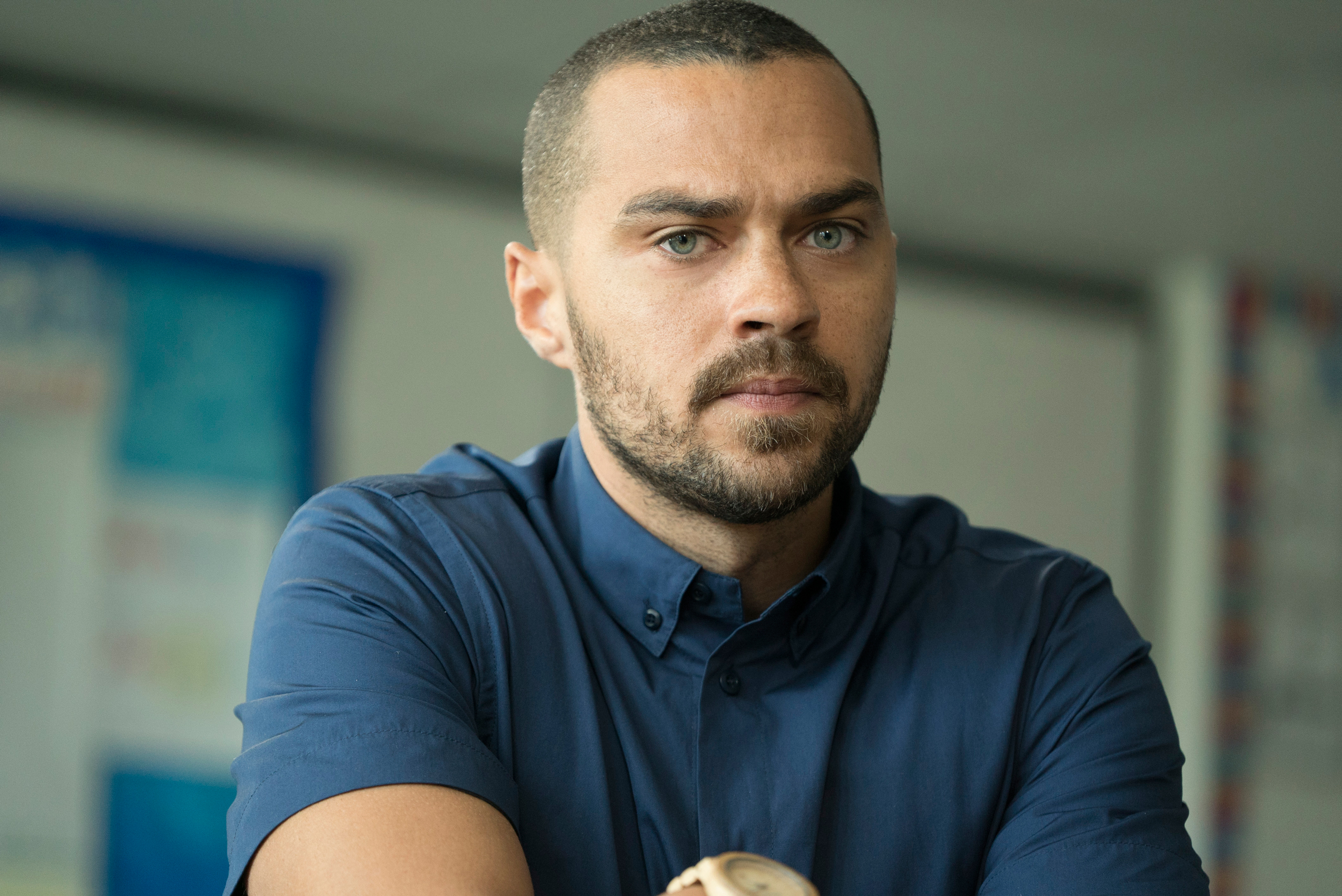 Jesse Williams in the EPIX Original docu-series America Divided