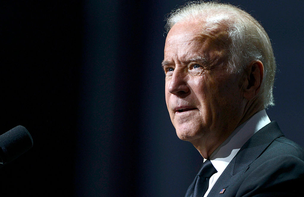 Vice President Joe Biden speaks during the 19th Annual HRC National Dinner at Walter E. Washington Convention Center on Oct. 3, 2015 in Washington, DC.