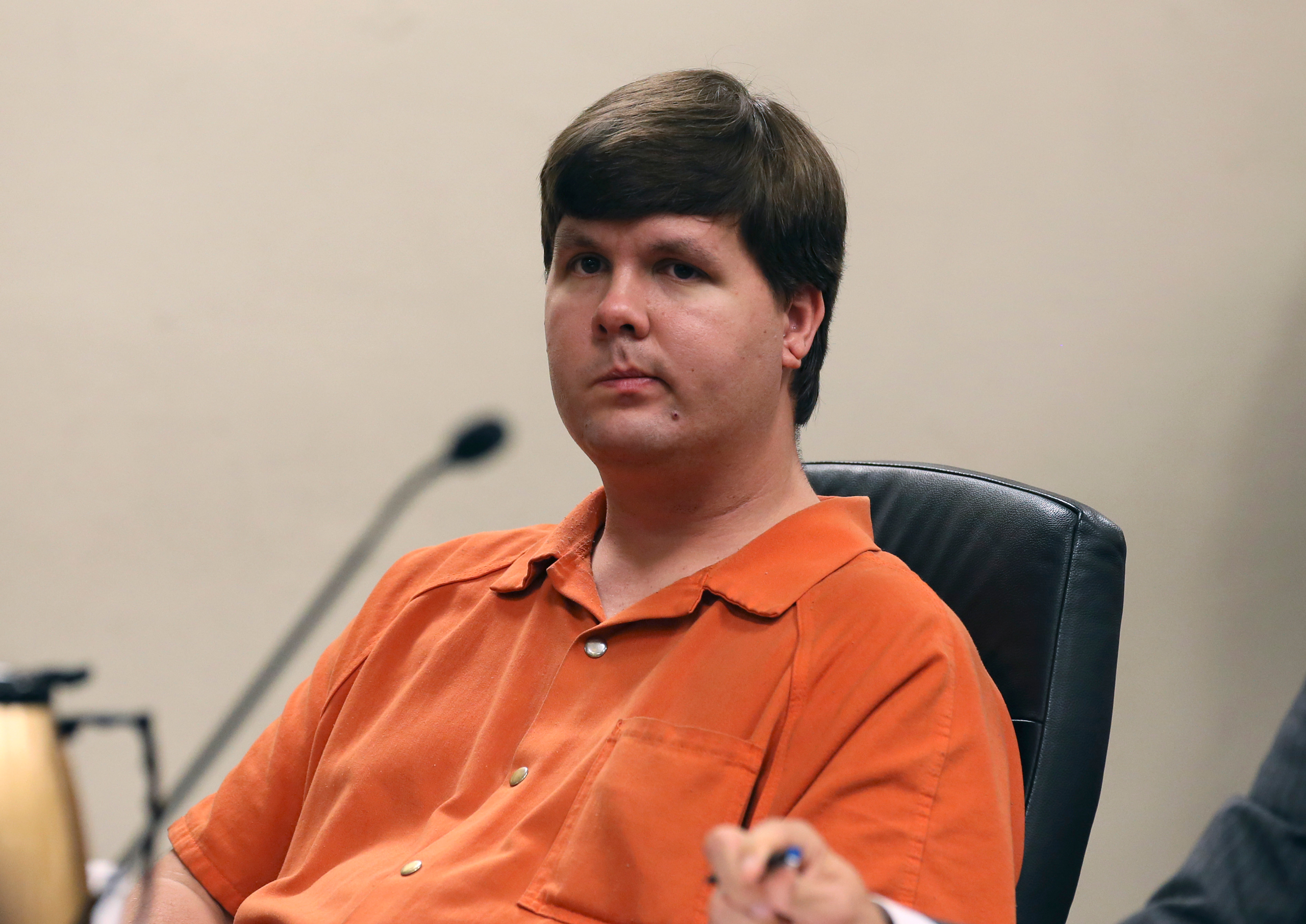 Justin Ross Harris sits in Cobb County Magistrate Court in Marietta, Georgia, on July 3, 2014.