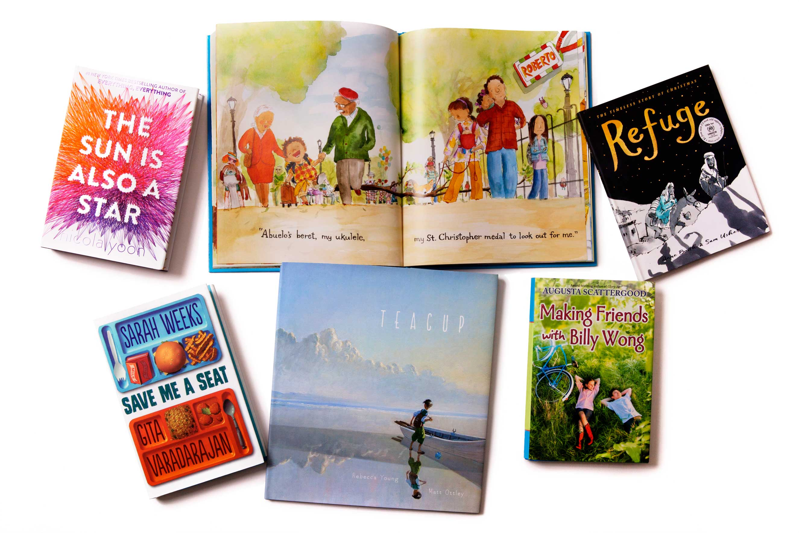 These six new books for young readers all provide different windows on the immigrant experience in America