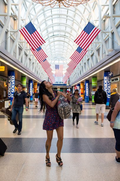 July 3, 2016 - Liset arrives at Chicago O'Hare International Airport to be reunited with her boyfriend, Joey, who she met in Cuba back in January and paid for her trip to go to the Unites States.