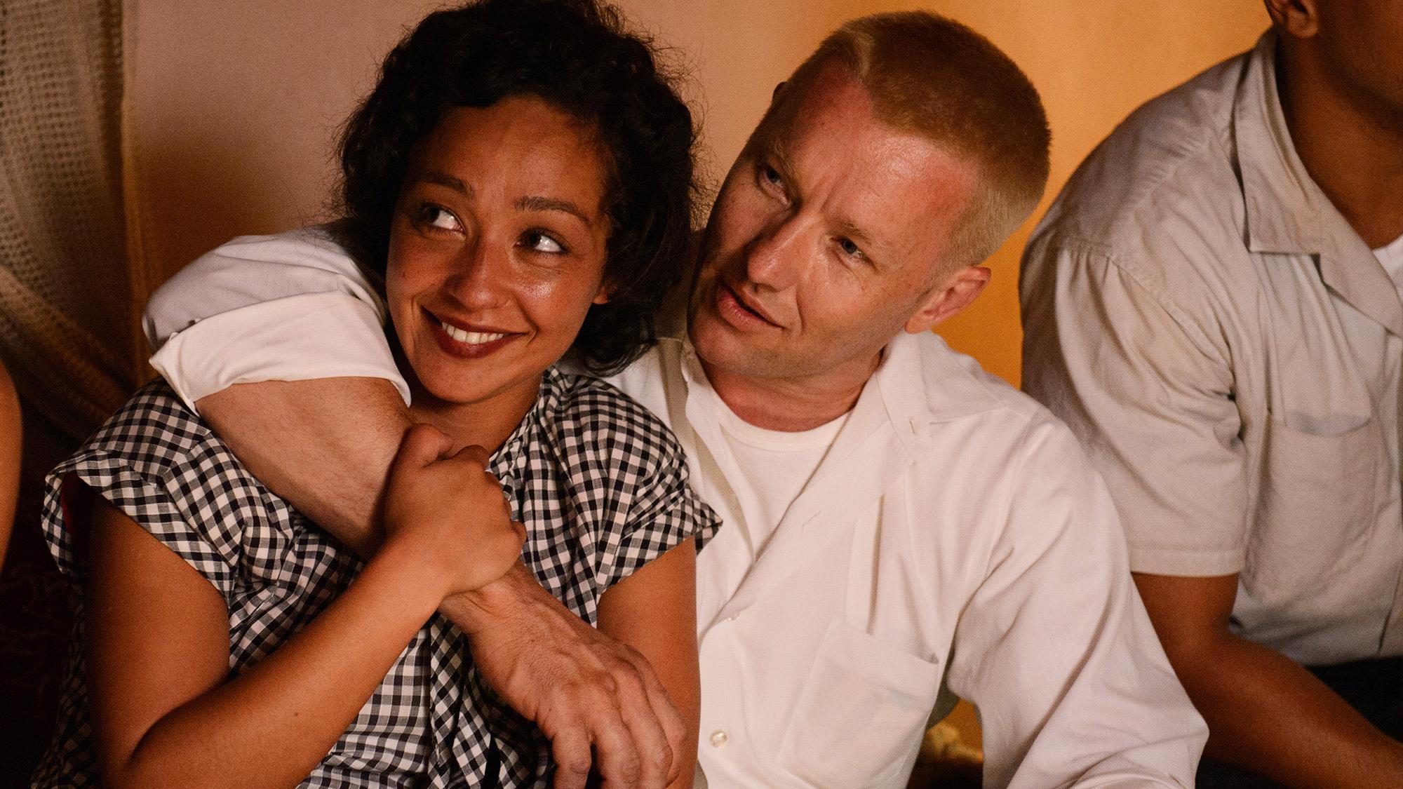 Ruth Negga and Joel Edgerton in Loving.