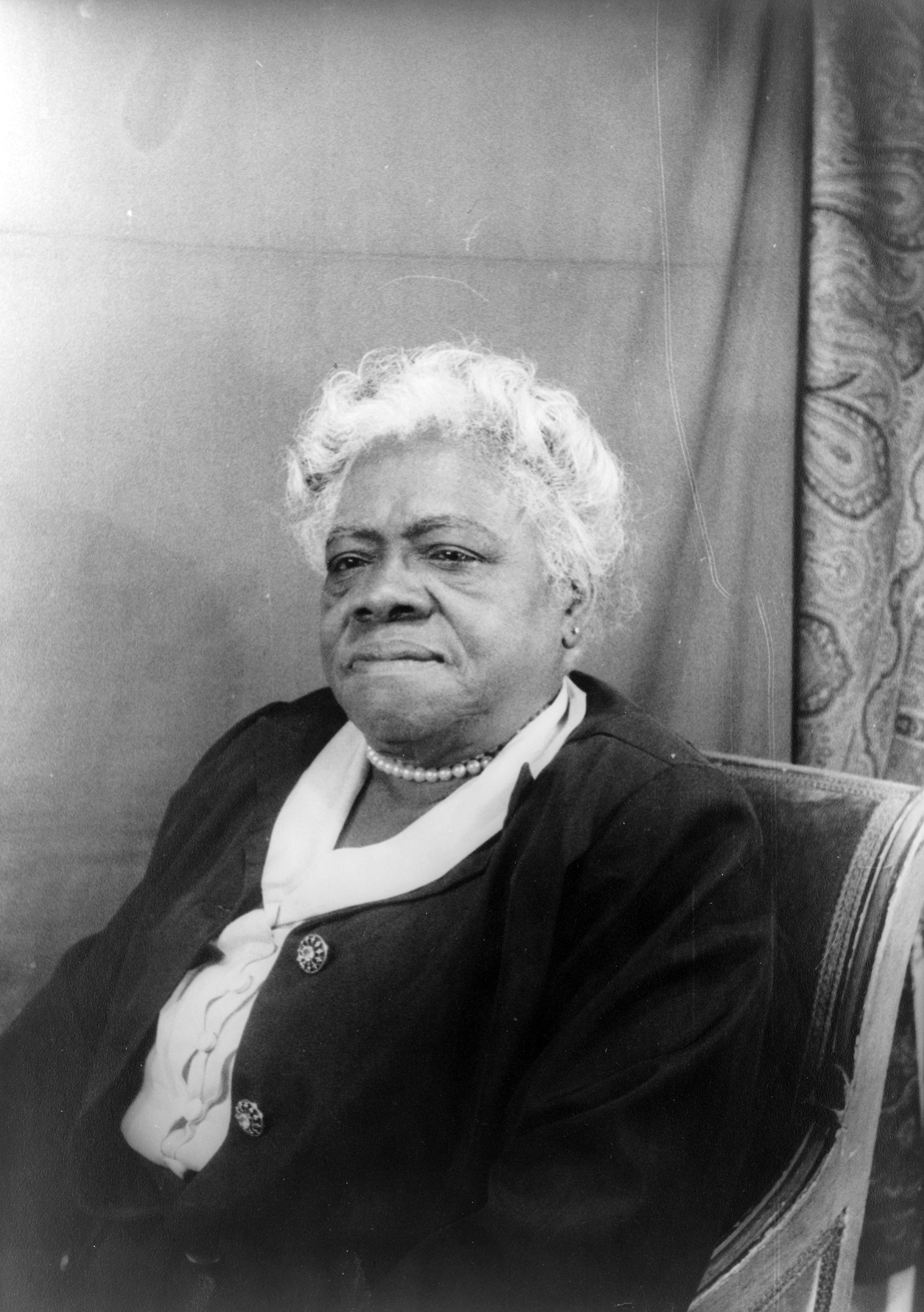 Mary McLeod Bethune, April 6, 1949.