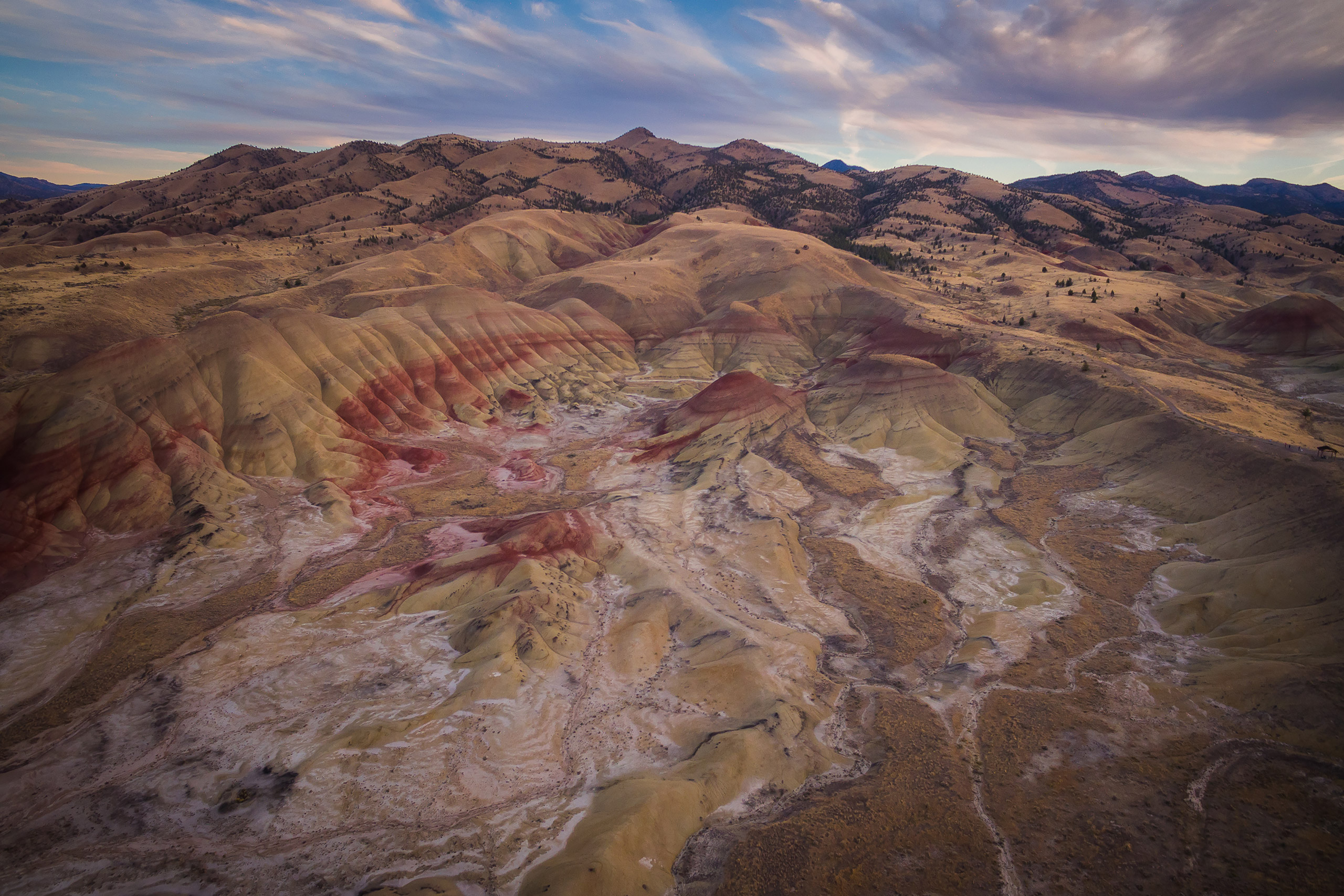 Painted Hills, Mitchell, Oregon, United States