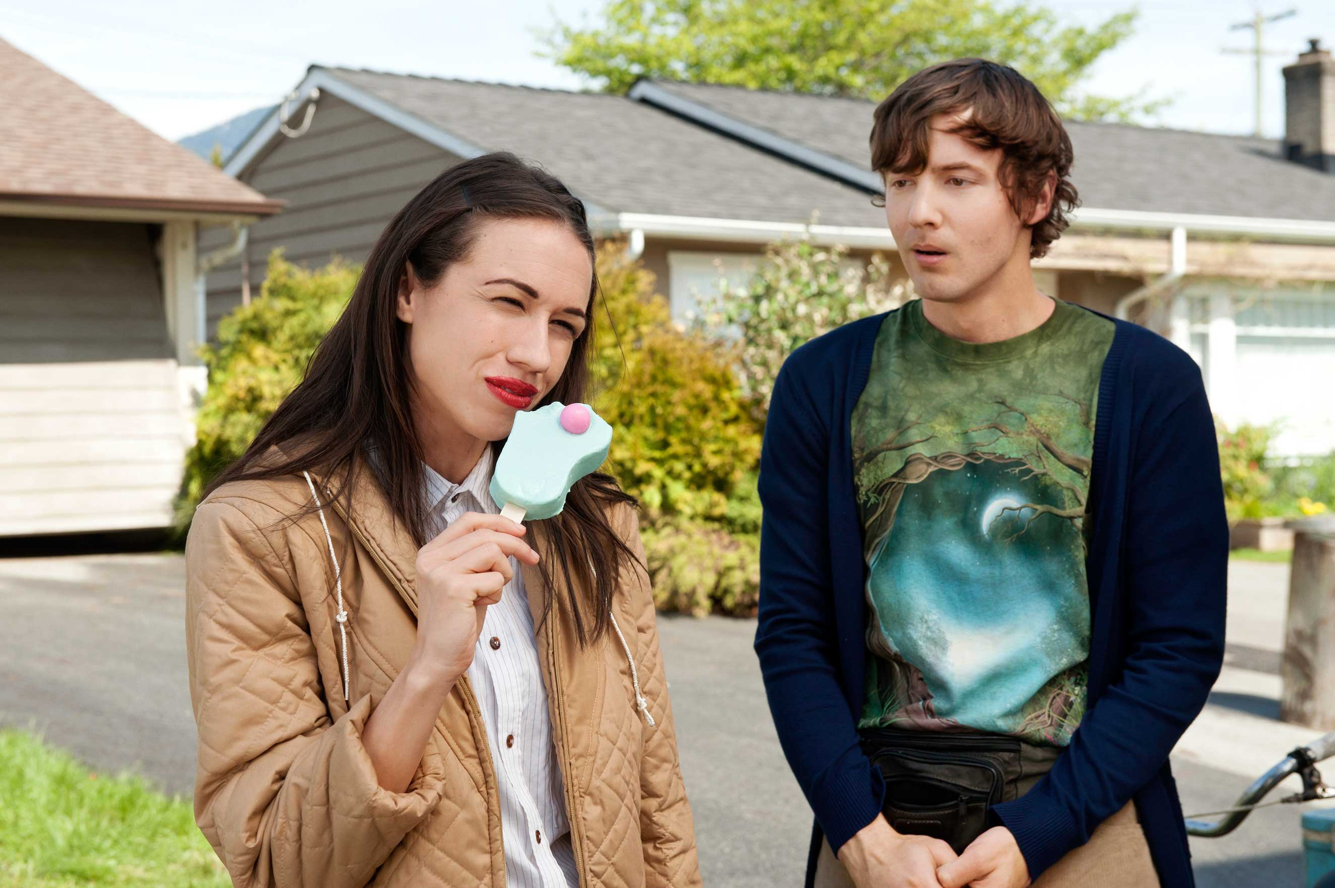 Ballinger's Miranda, with an admirer (Erik Stocklin), dreams of adoring fans