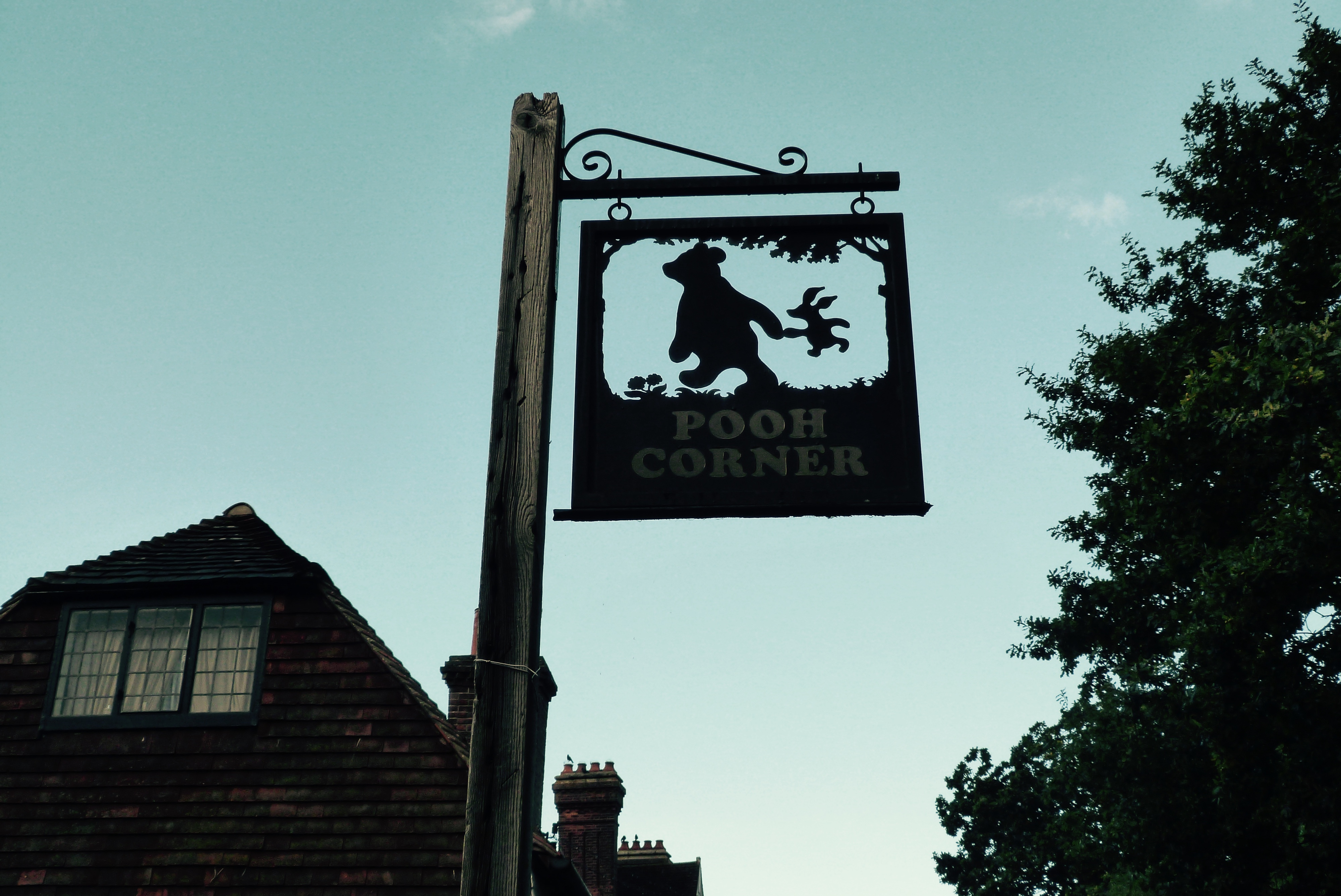 The Pooh Corner shop in Hartfield, the village that was home to the country farm Milne bought in the early 1920s, on Oct. 10 2016.
