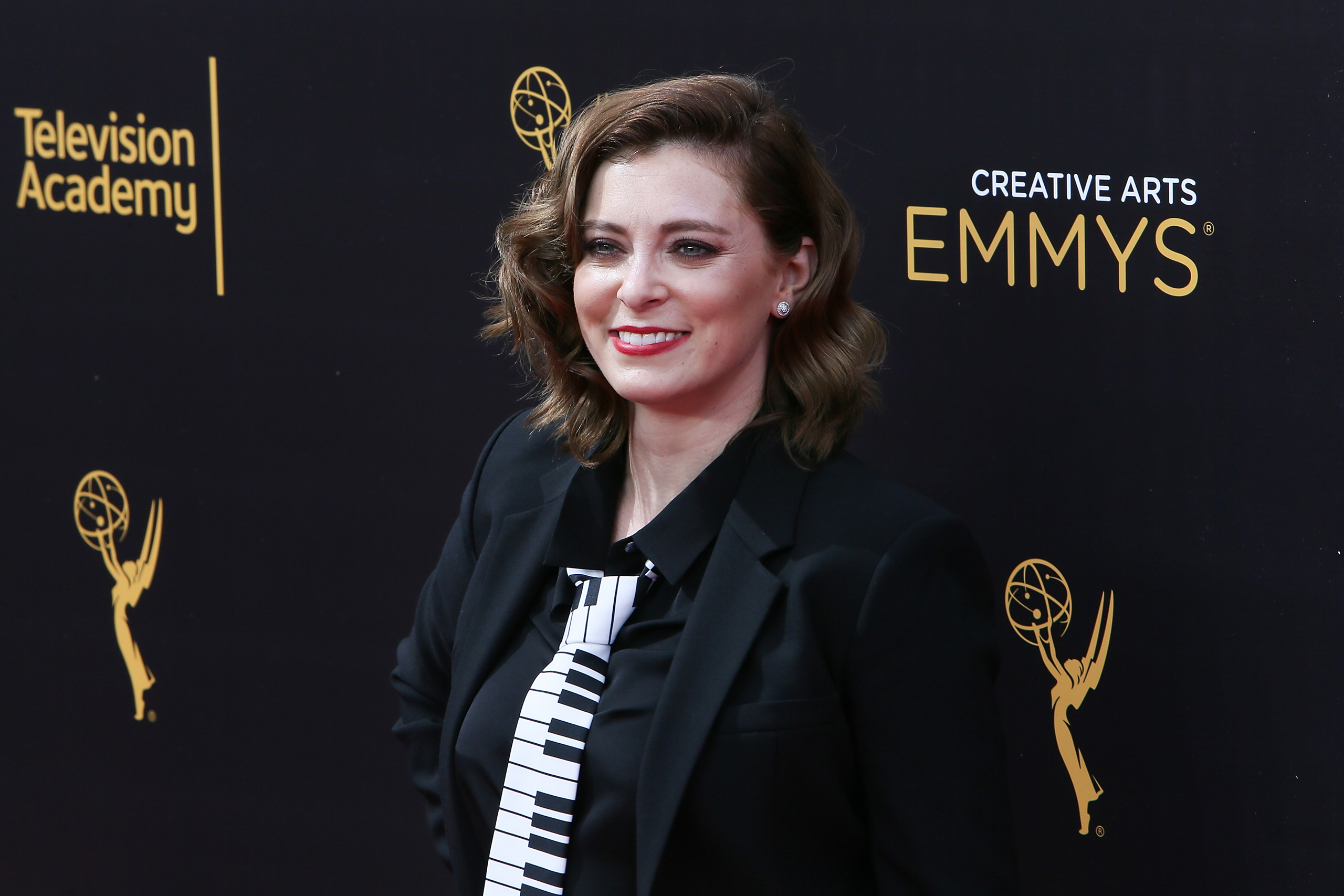 Rachel Bloom attends the 2016 Creative Arts Emmy Awards Day 1 at the Microsoft Theater in Los Angeles on Sept. 10, 2016.