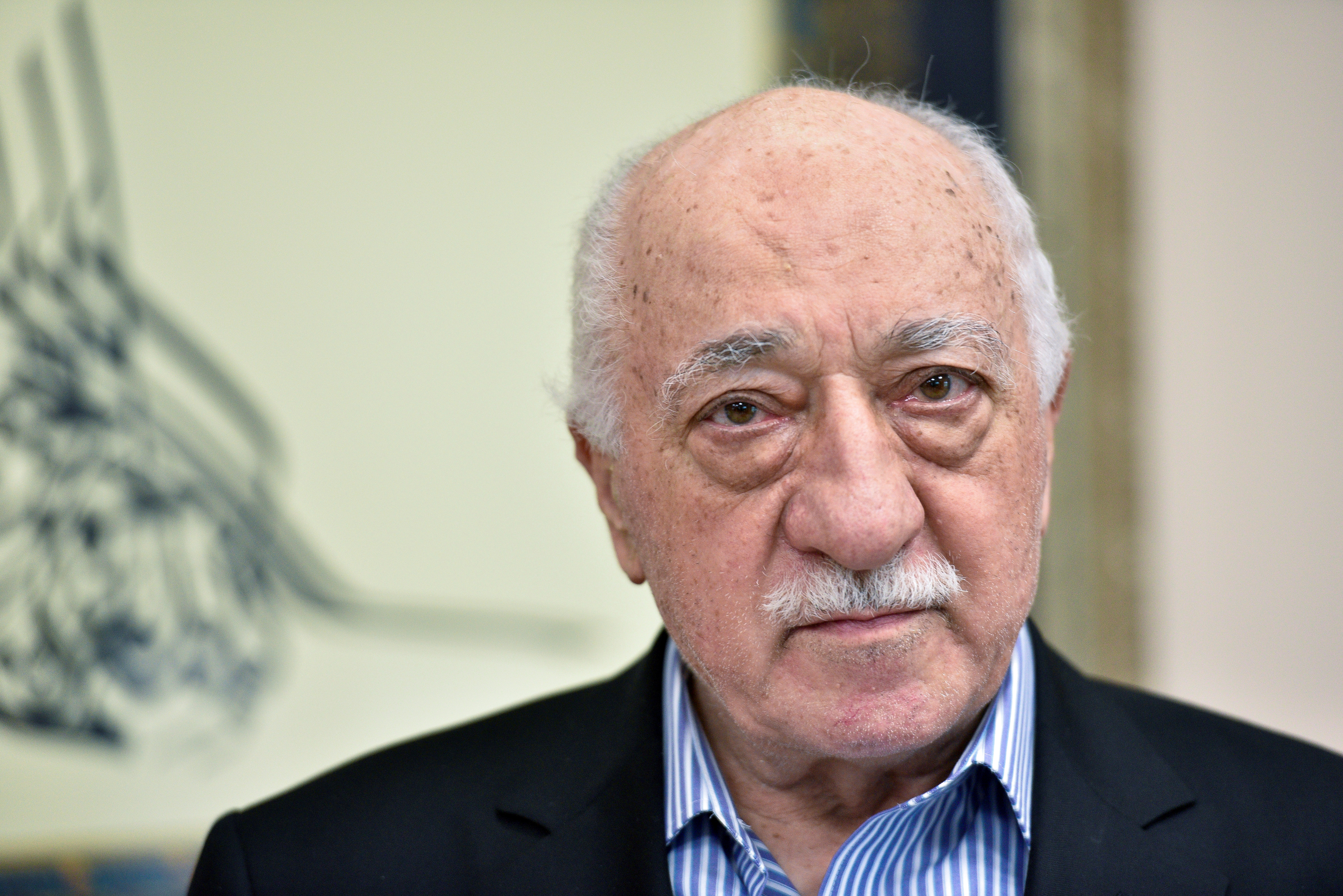 U.S.-based cleric Fethullah Gulen at his home in Saylorsburg, Pa., on July 29, 2016