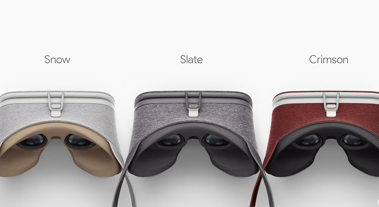 Google Daydream View Colors