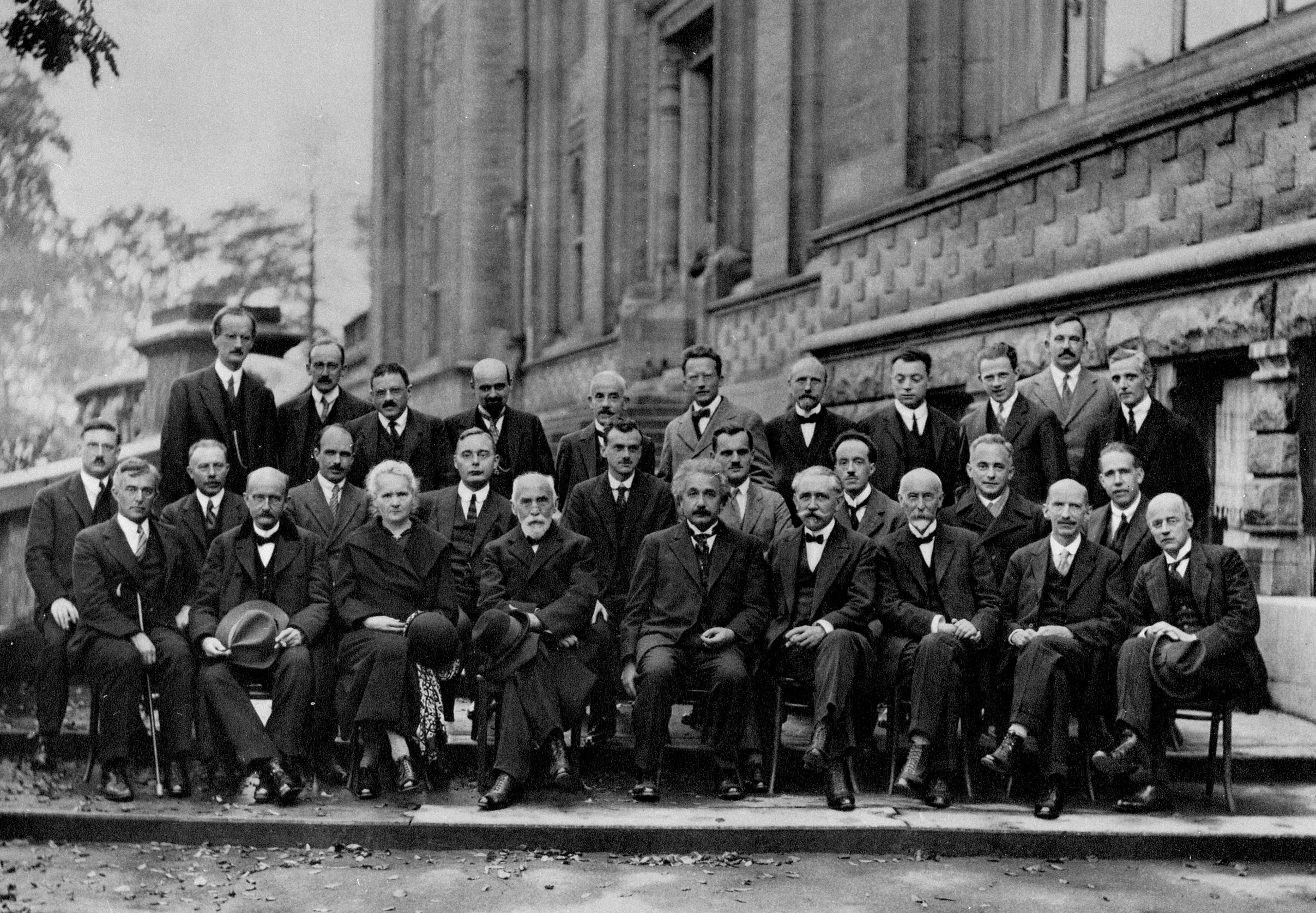 Solvay Physics Conference, Brussels, 1927.