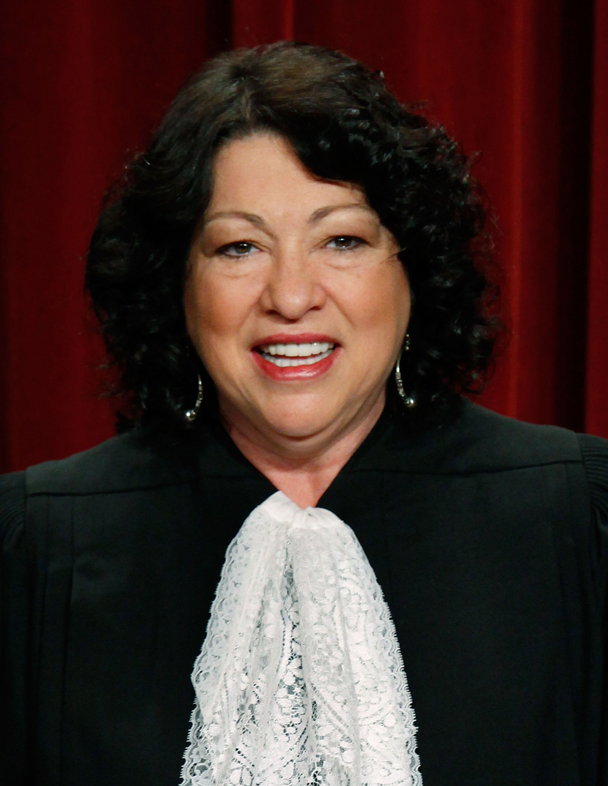 Associate Justice Sonia Sotomayor, poses for a photograph at the Supreme Court building on September 29, 2009 in Washington, DC.
