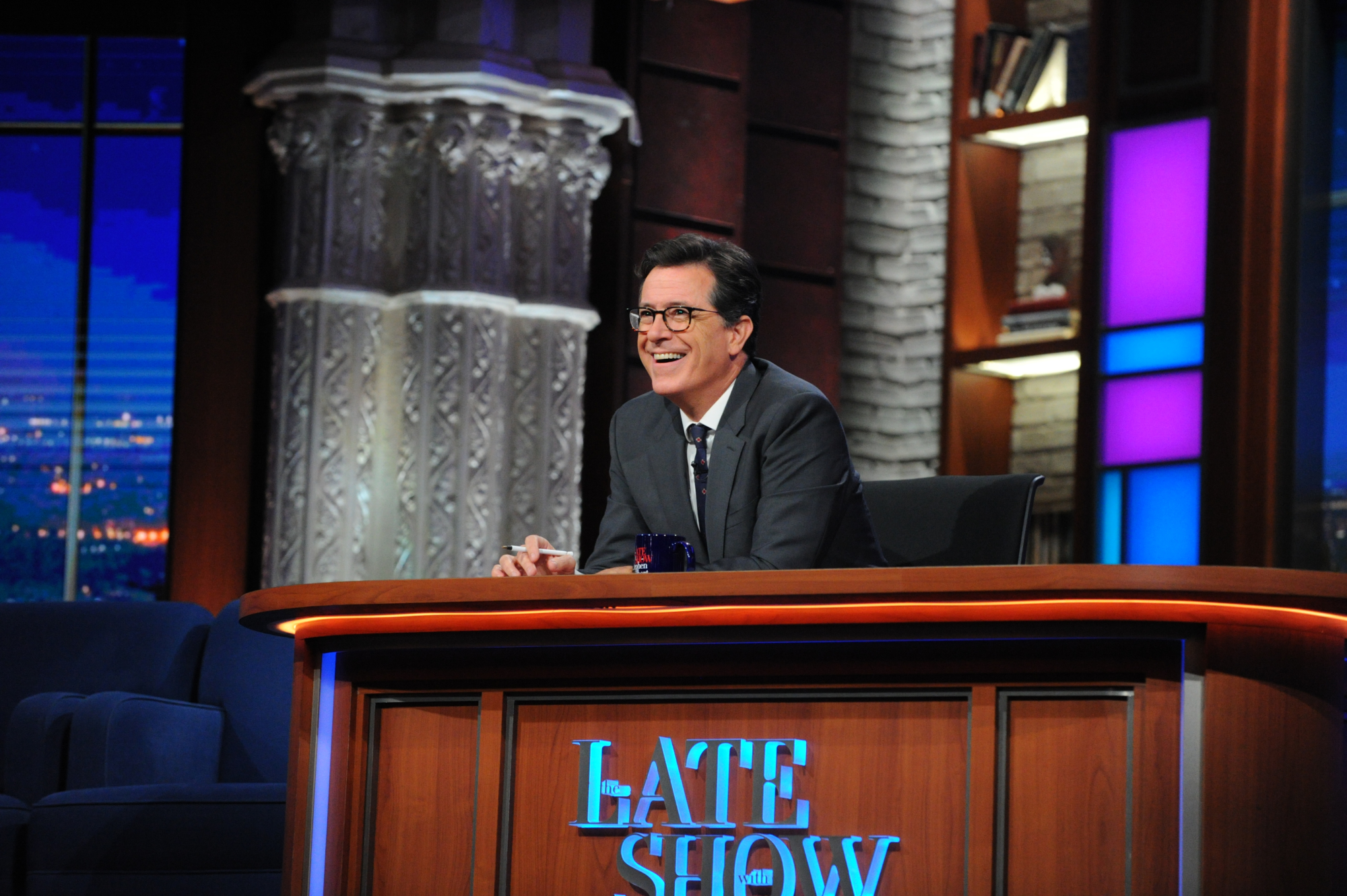 The Late Show with Stephen Colbert on Tuesday, September 20, 2016.