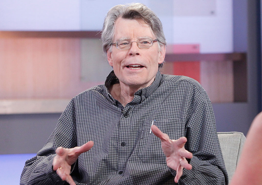 Stephen King appears on ABC's  Good Morning America  on Nov. 2, 2015.