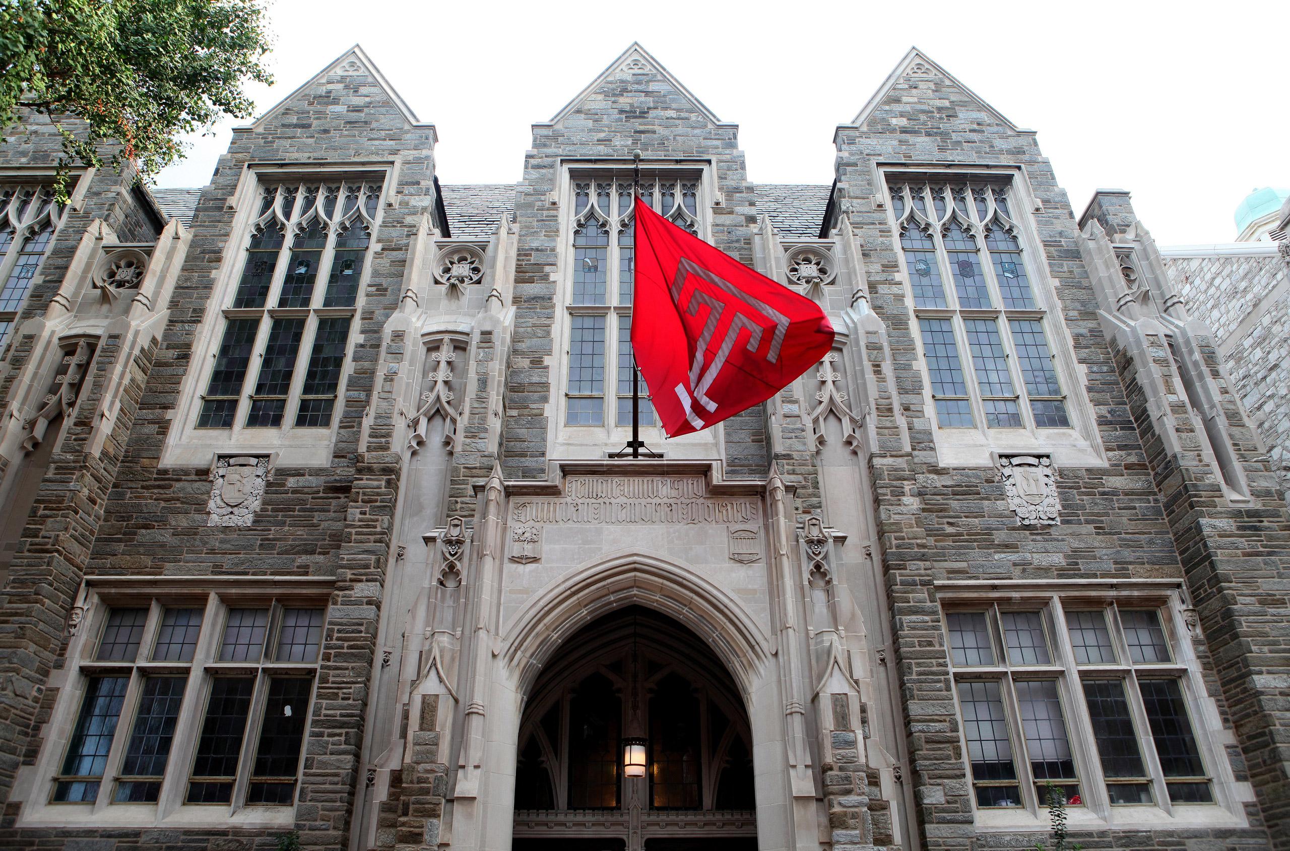 Sullivan Memorial Library at Temple University in Philadelphia on Aug. 27, 2016.