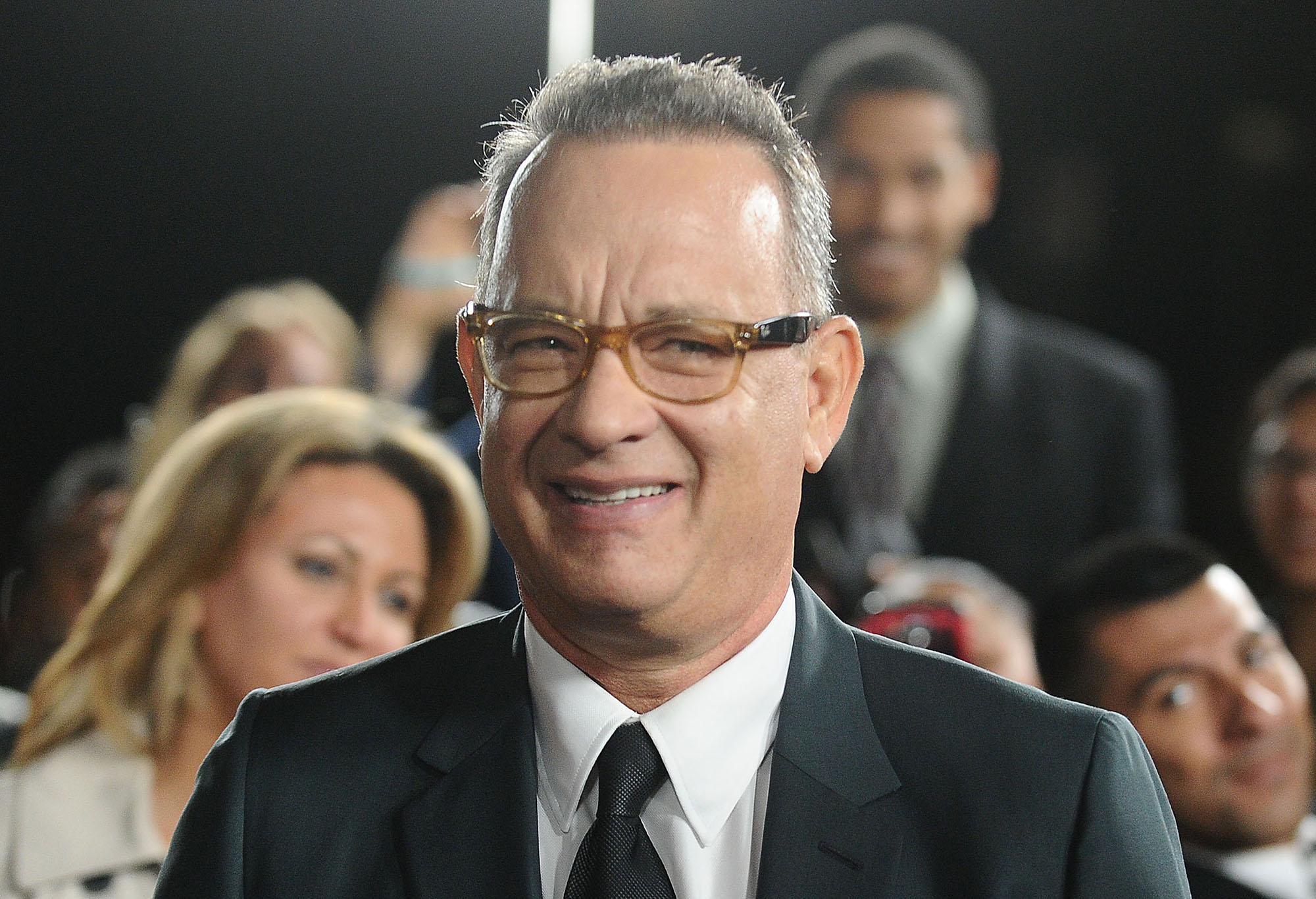 Tom Hanks attends a screening of  Inferno  at DGA Theater on October 25, 2016 in Los Angeles, California.  (Photo by Jason LaVeris/FilmMagic)