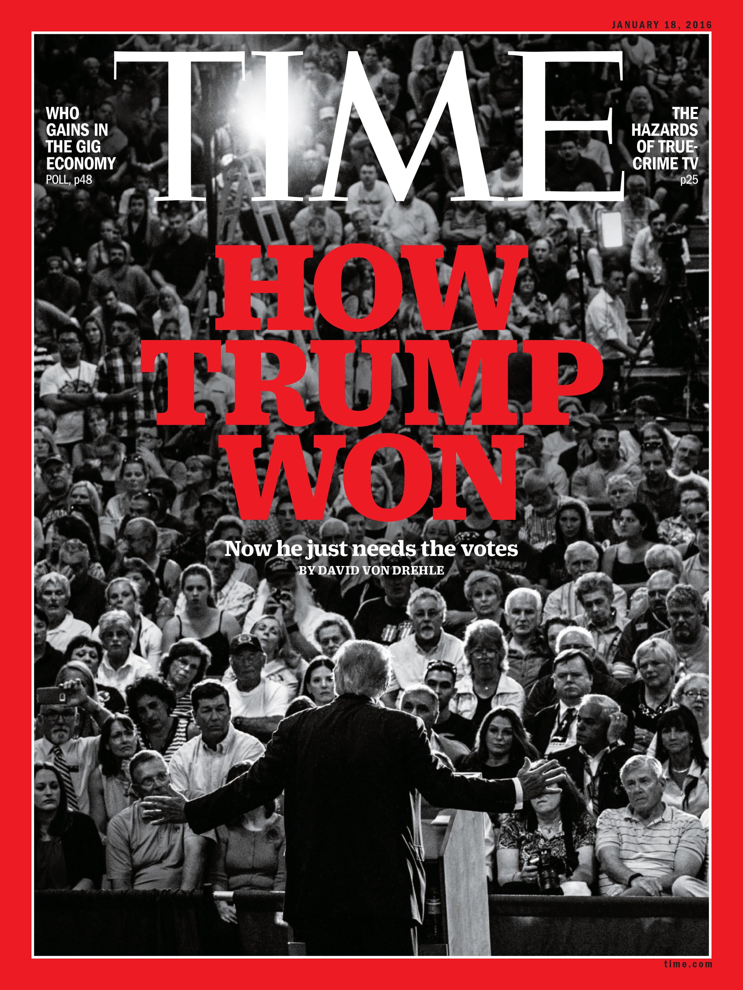 The Jan. 18, 2016 issue of TIME.