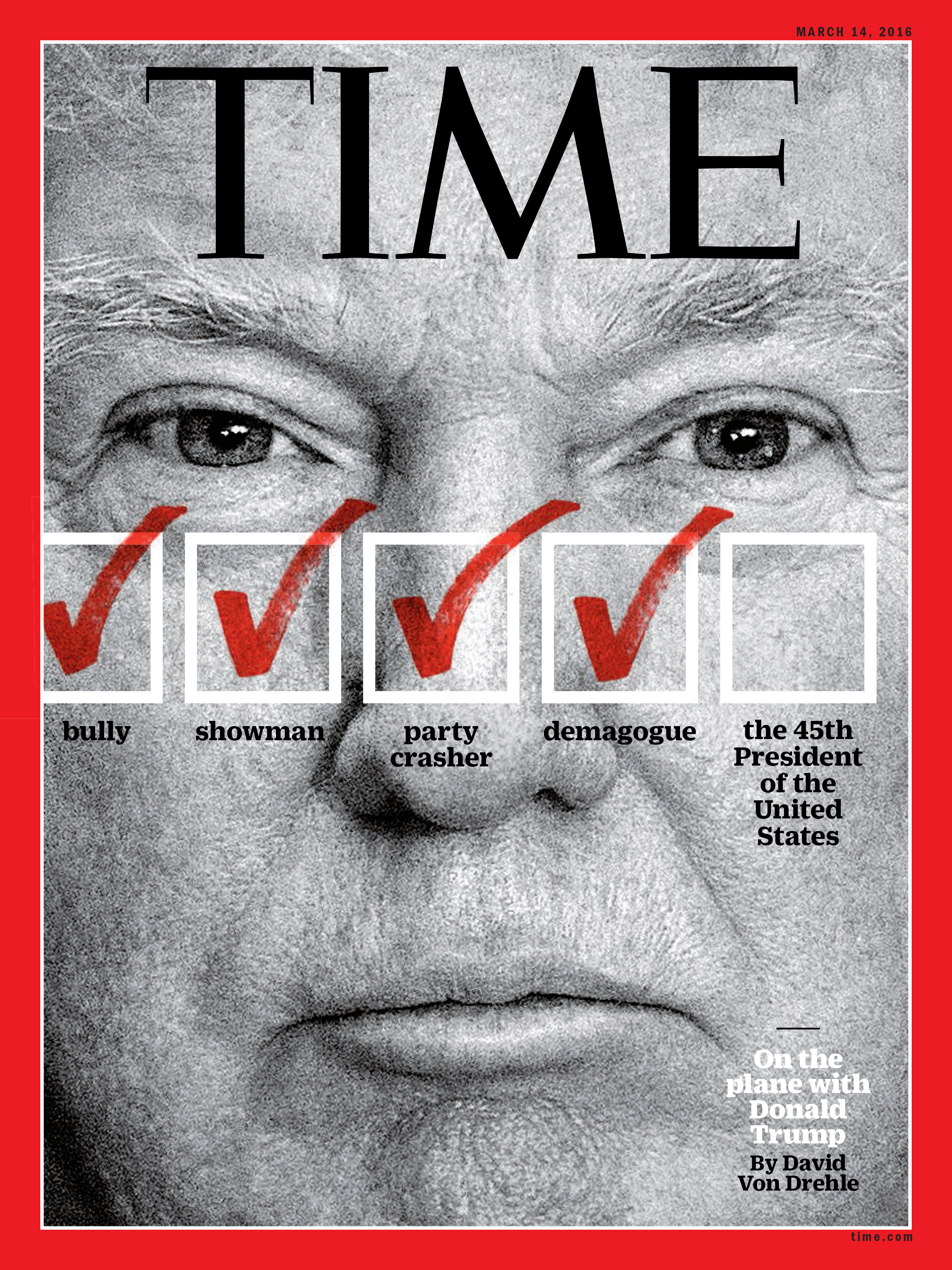 The Mar. 14, 2016 issue of TIME.