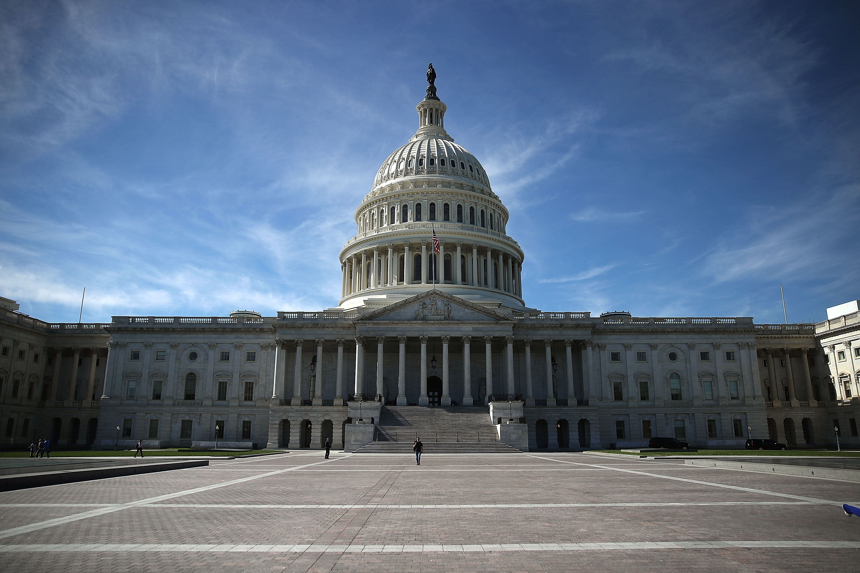 The US Capitol is shown October 11, 2016 in Washington DC.