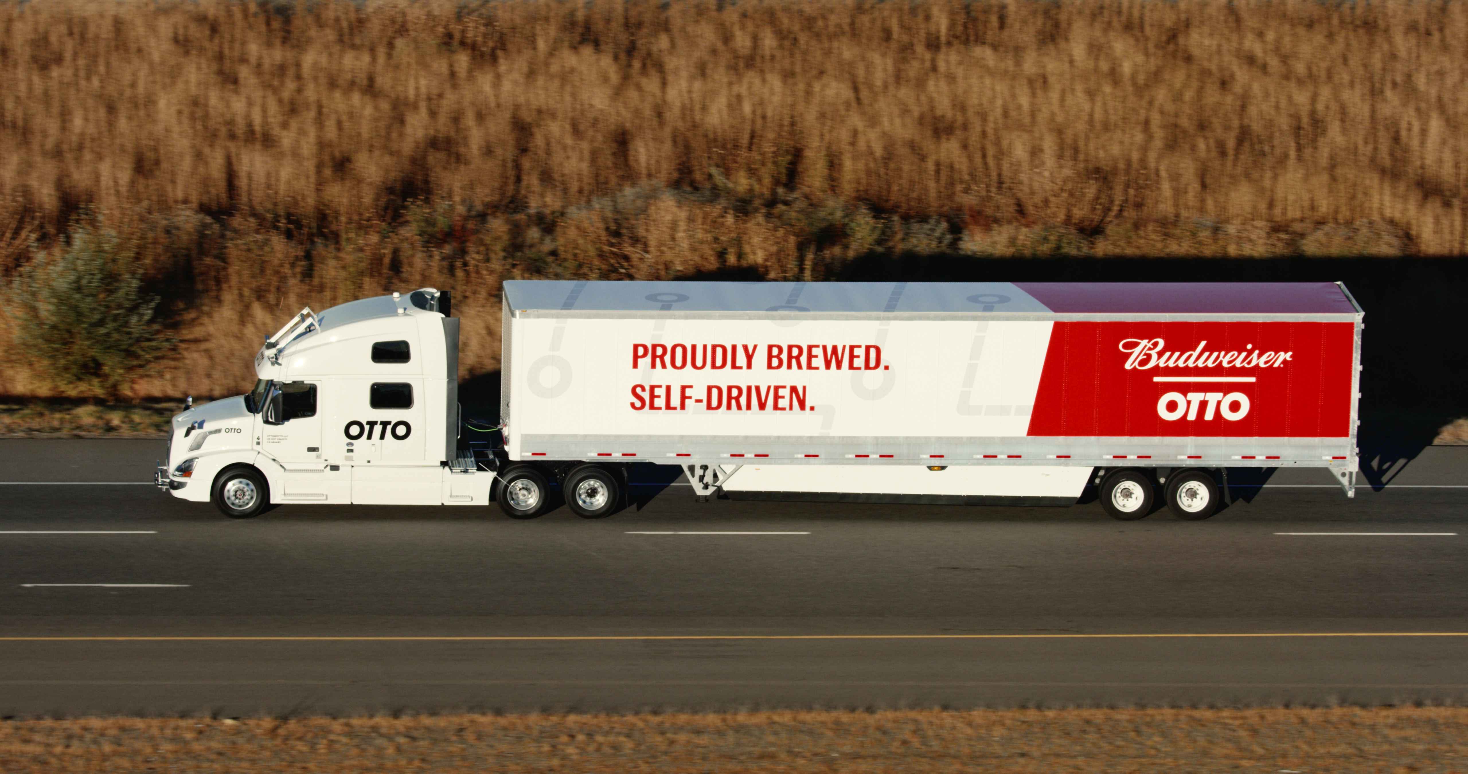 Otto Self-Driving Beer Delivery