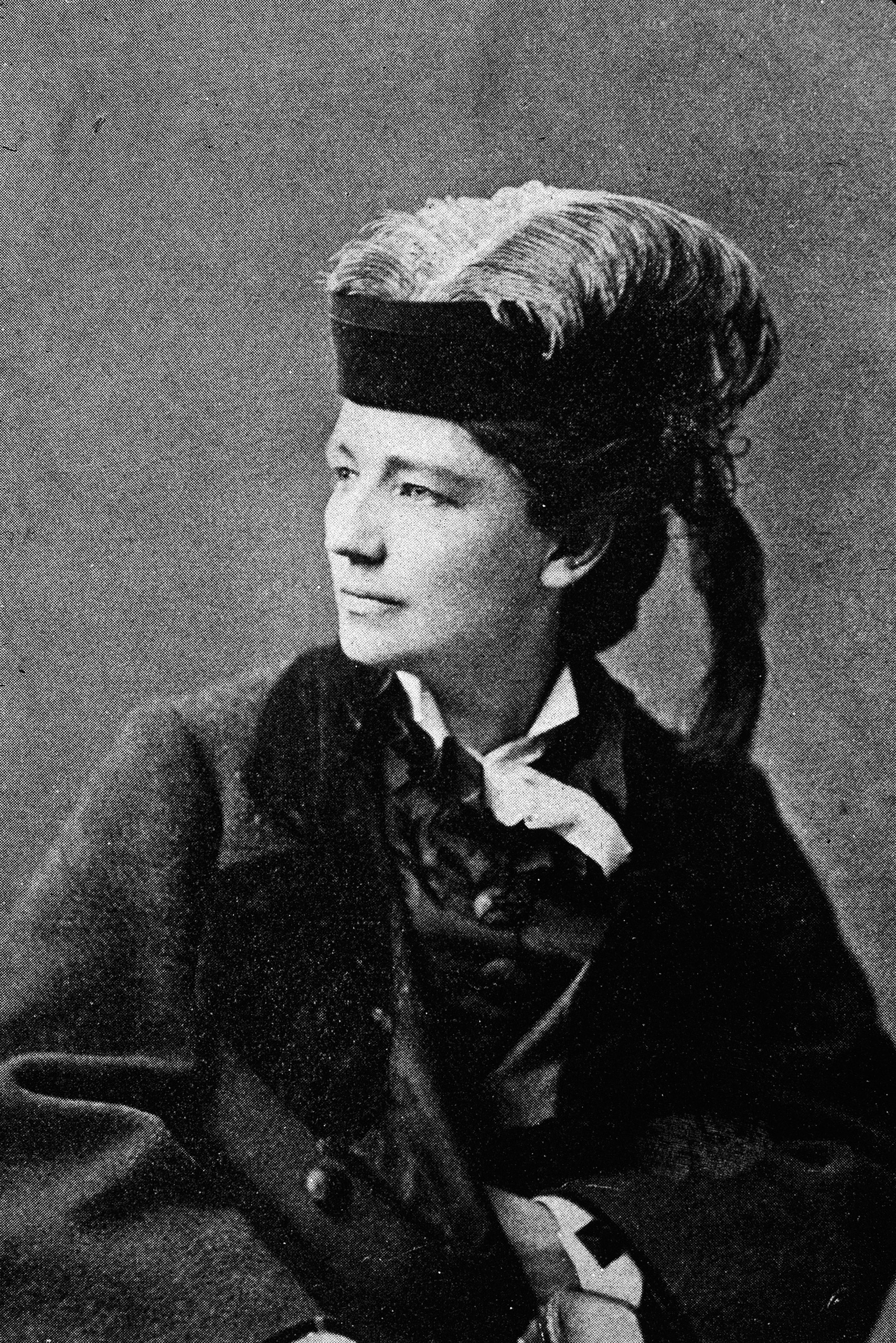 Victoria Claflin Woodhull, the first woman to run for US president from a nationally recognized ticket as the candidate of the Equal Rights Party in 1872.