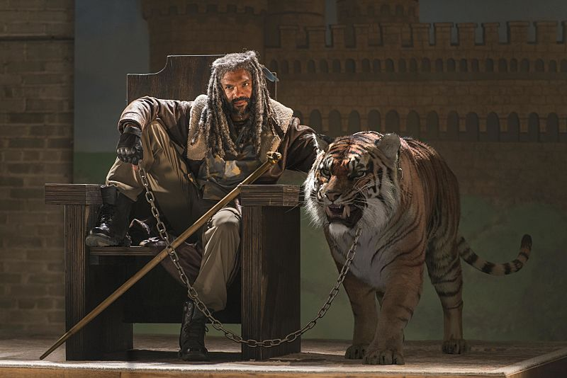 Khary Payton as Ezekiel on  The Walking Dead,  Season 7, Episode 2.