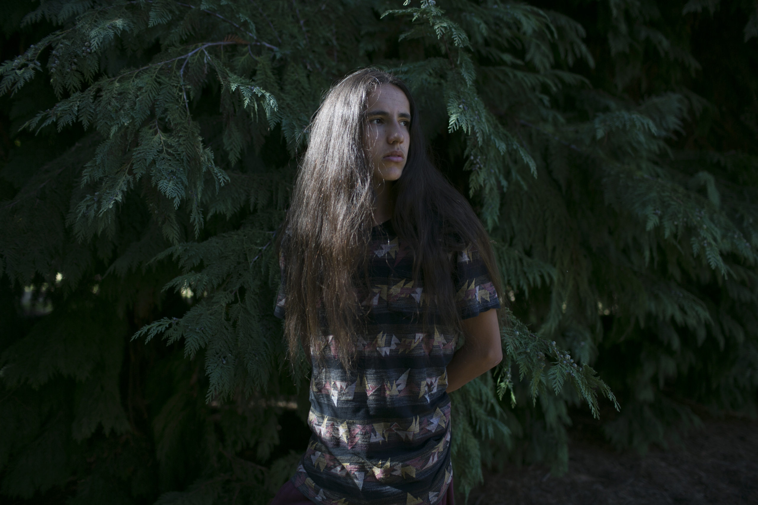Xiuhtezcatl Martinez in Eugene, OR. Sept. 2016.