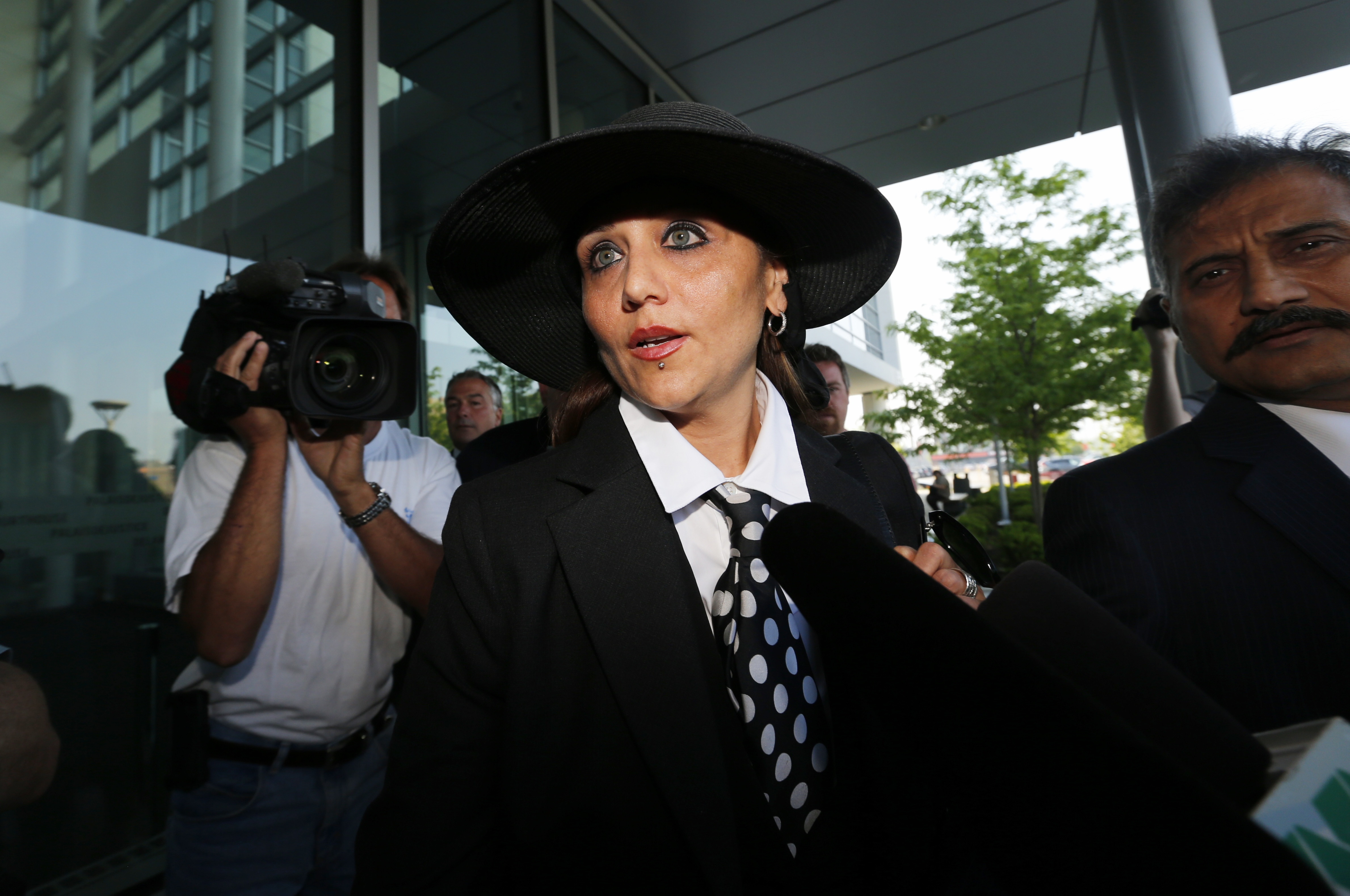 Yasmin Nakhuda in Oshawa, Canada, on May 30, 2013.