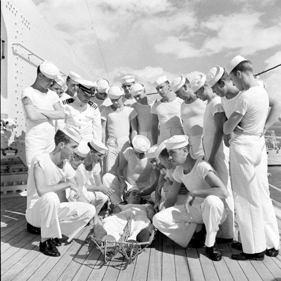 U.S. Navy in Hawaii 1940.