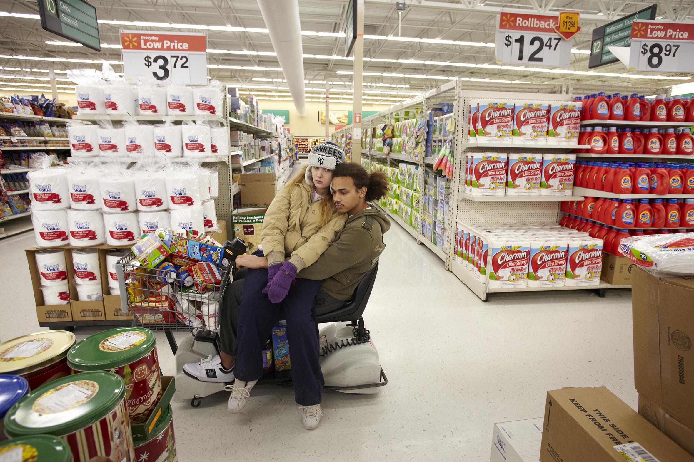 Dana and Elliott,                                Hoosick Street Wal-Mart, Troy, 2010.