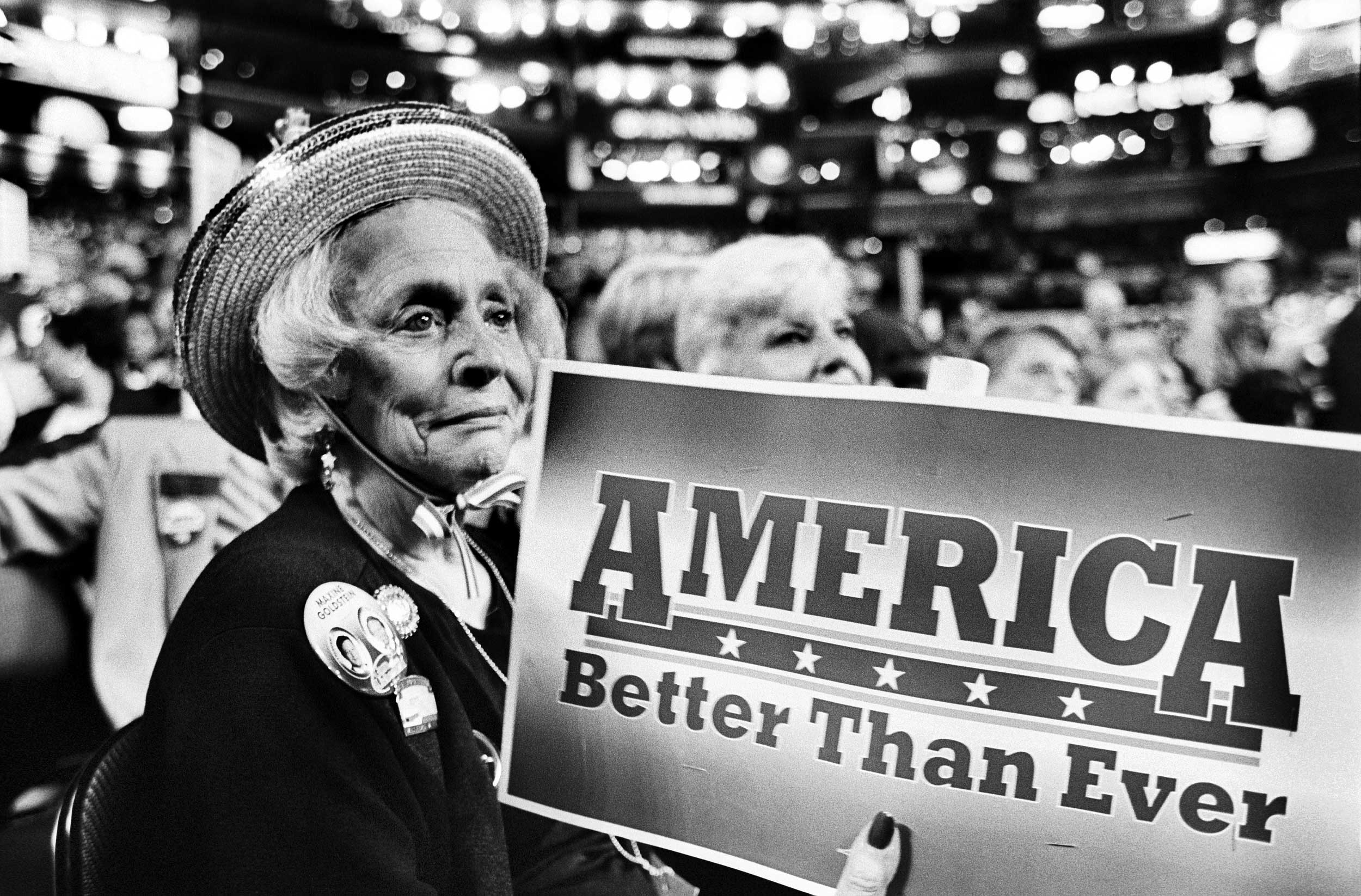 A senior delegate at the 2000 Democratic National Convention.