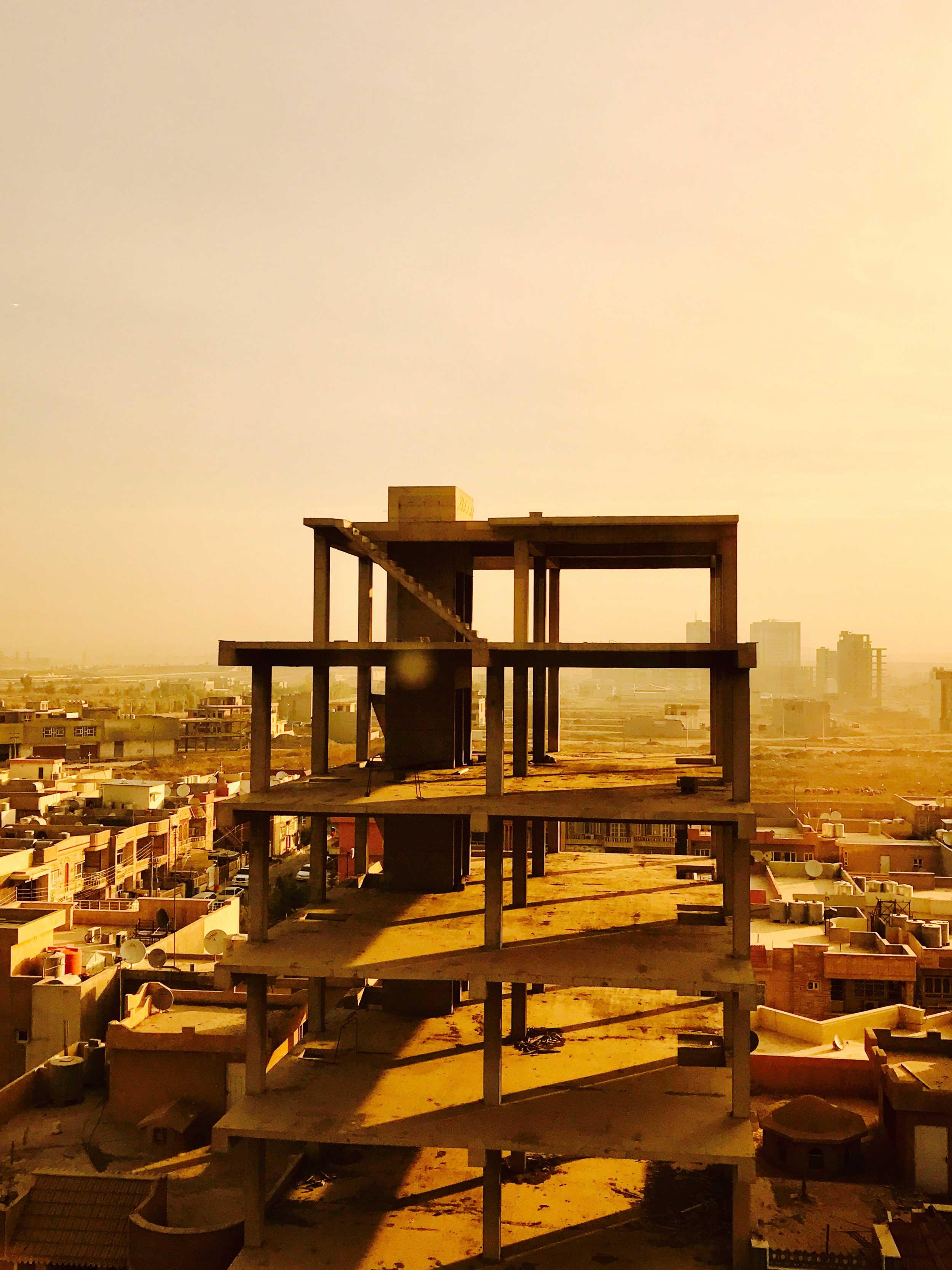 Erbil, Iraq. Nov. 9, 2016.