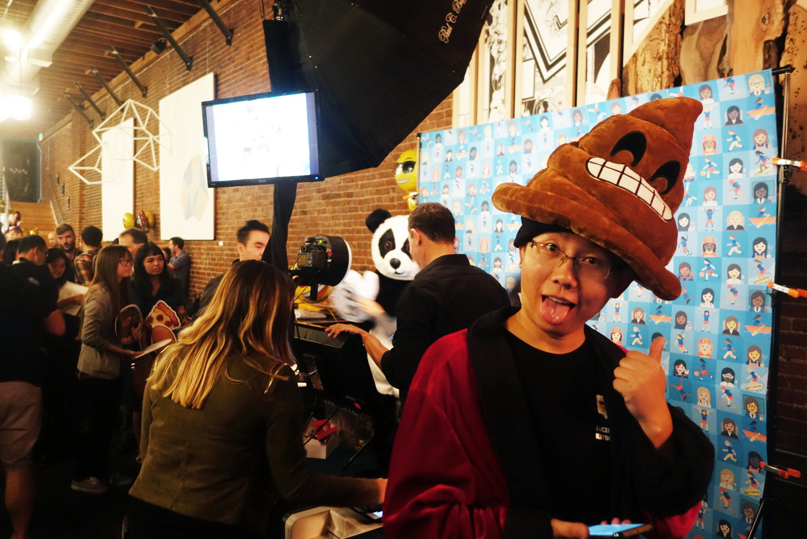 The first Emoji convention, Emojicon, held in San Francisco, CA on Nov. 4, 2016.