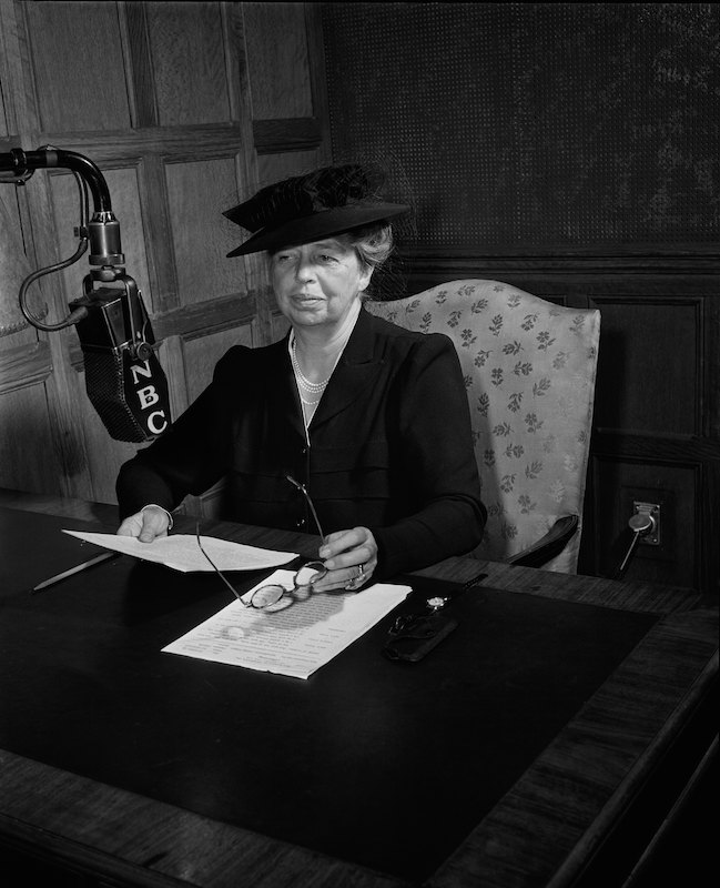 First Lady Eleanor Roosevelt in 1941