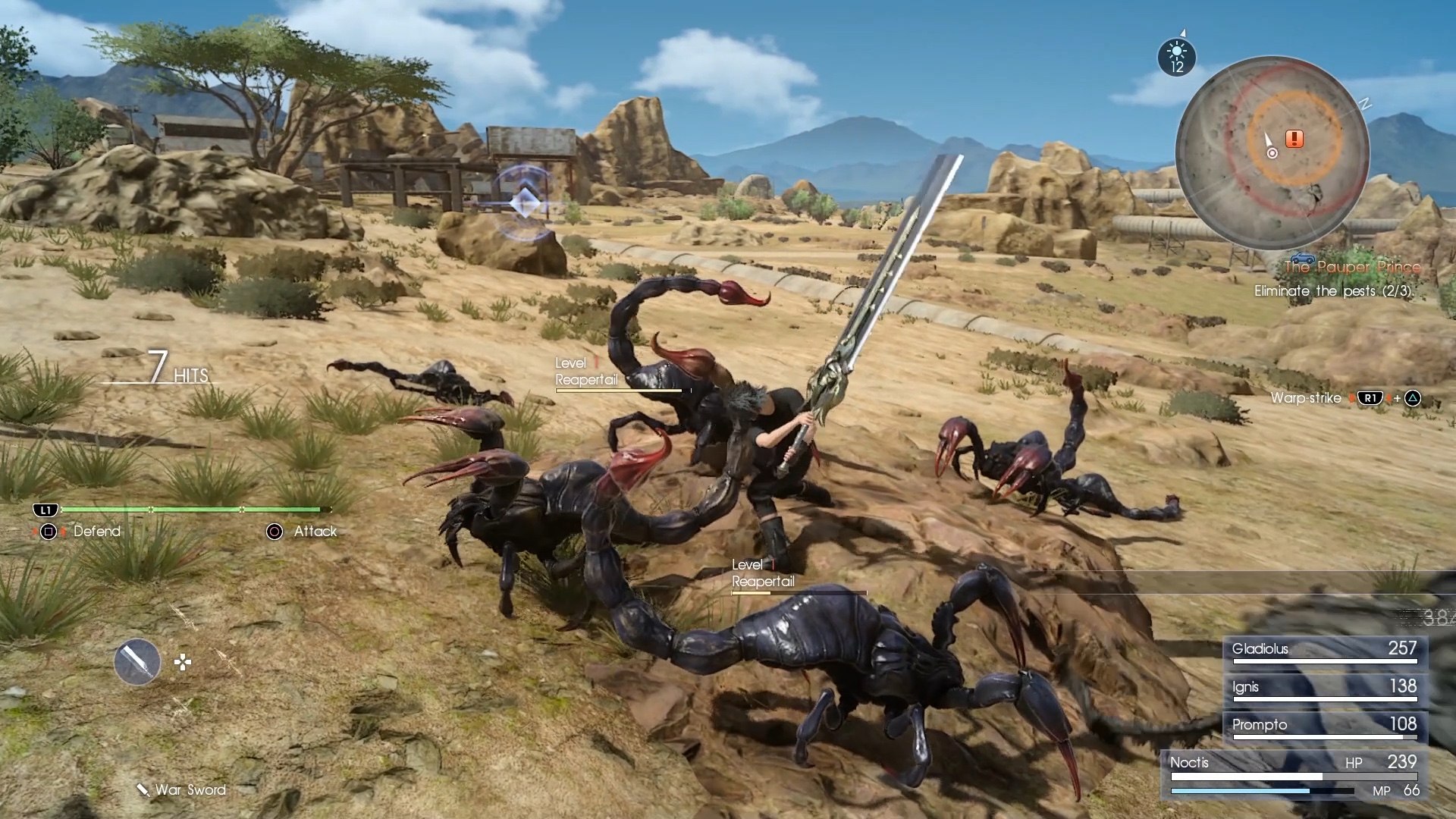 Final Fantasy XV Review: The Best Final Fantasy in Years | Time