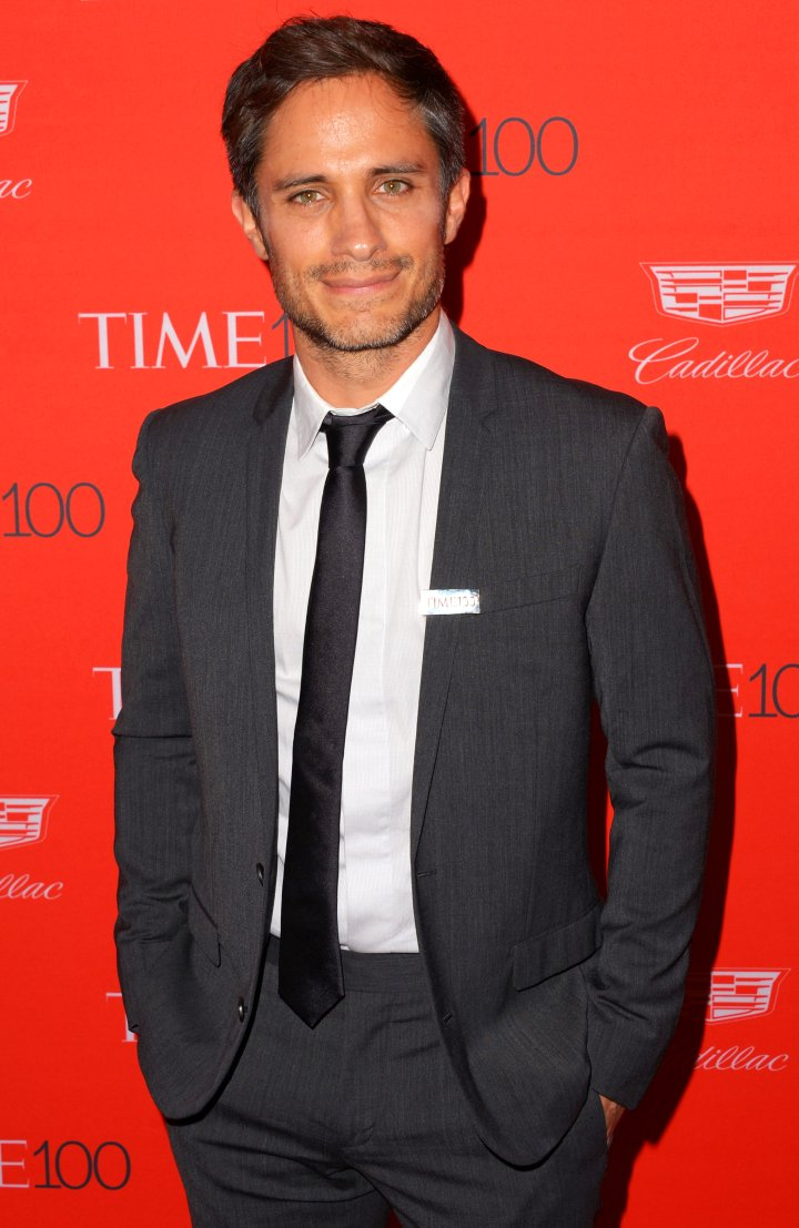 Gael Garcia Bernal attends the 2016 Time 100 Gala, on April 26, 2016 in New York City.