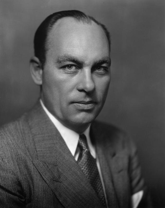 Circa 1945:  American statistician and public opinion analyst George Gallup, creator of the Gallup public opinion polls.