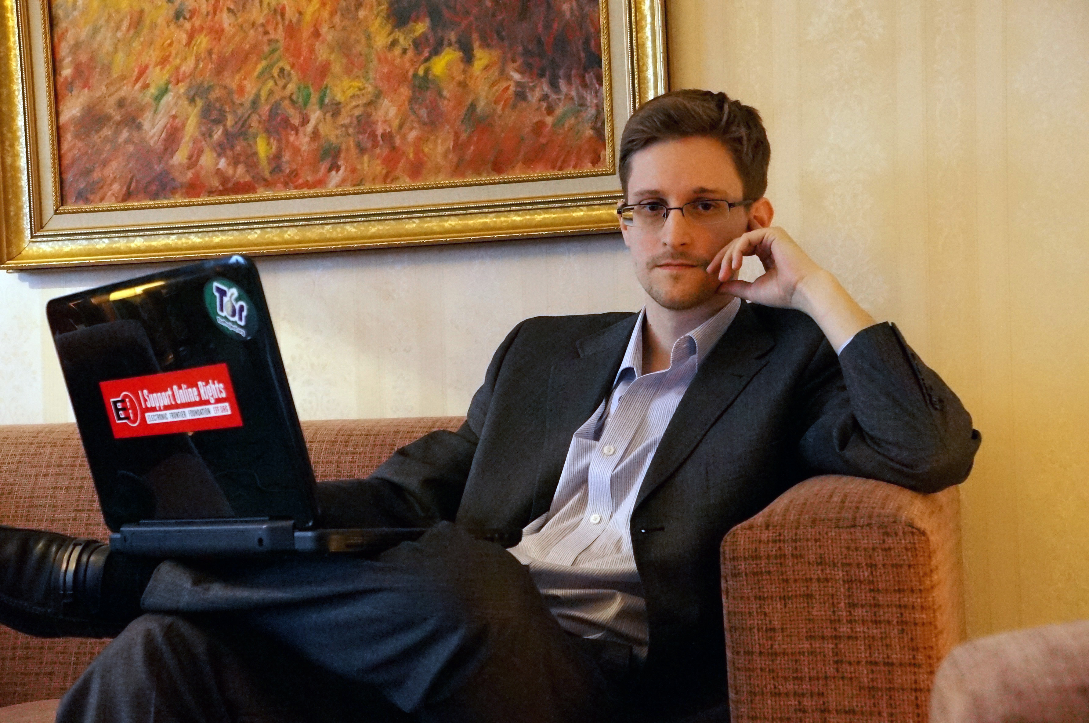 Edward Snowden has warned that open government in the U.S. is being substituted by  sheer authoritarianism  (file photo)