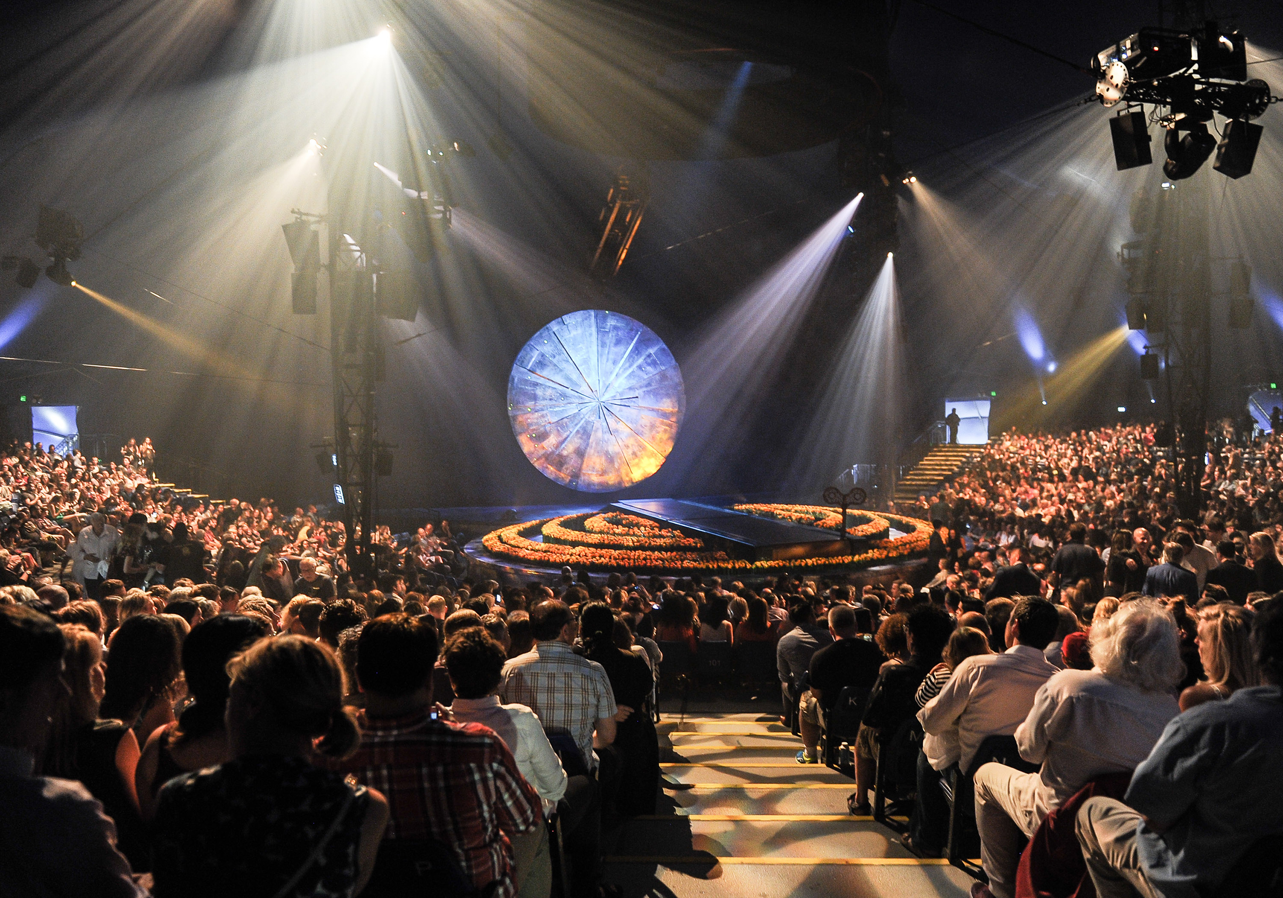 A general view of the opening of Cirque Du Soleil's  Luzia  at Port Lands on July 28, 2016 in Toronto.  One of the show's employees has died in an accident in San Francisco.