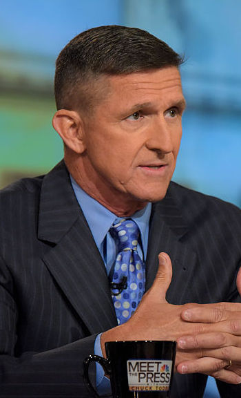 Retired general Mike Flynn