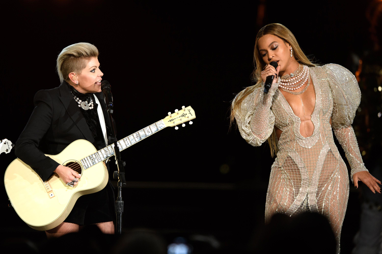 Beyoncé performs at the 50th Annual CMA Awards, Nov. 2 2016.