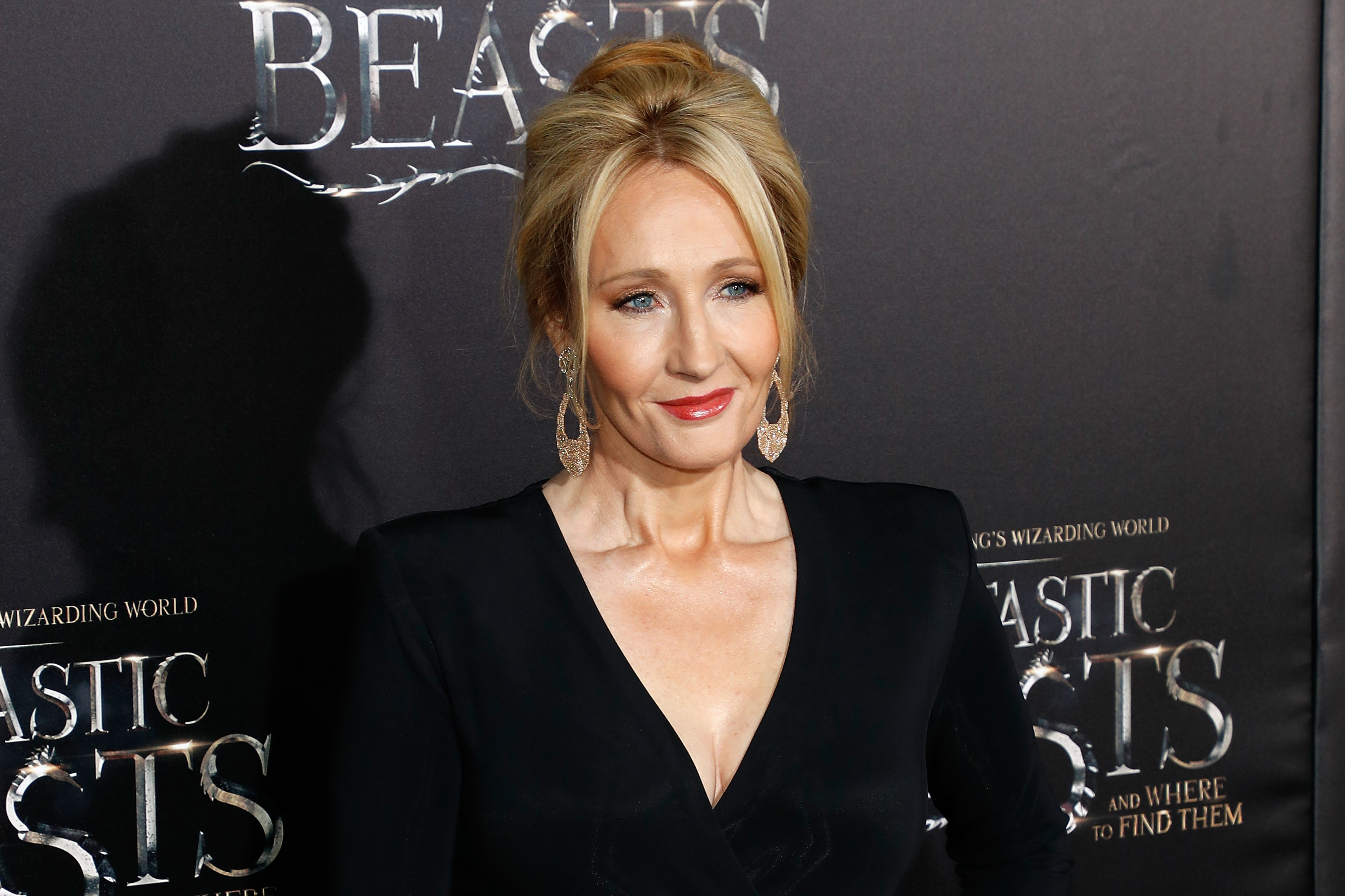 Author J.K. Rowling attends the premiere of  Fantastic Beasts and Where to Find Them  at Alice Tully Hall, Lincoln Center on November 10, 2016 in New York City.