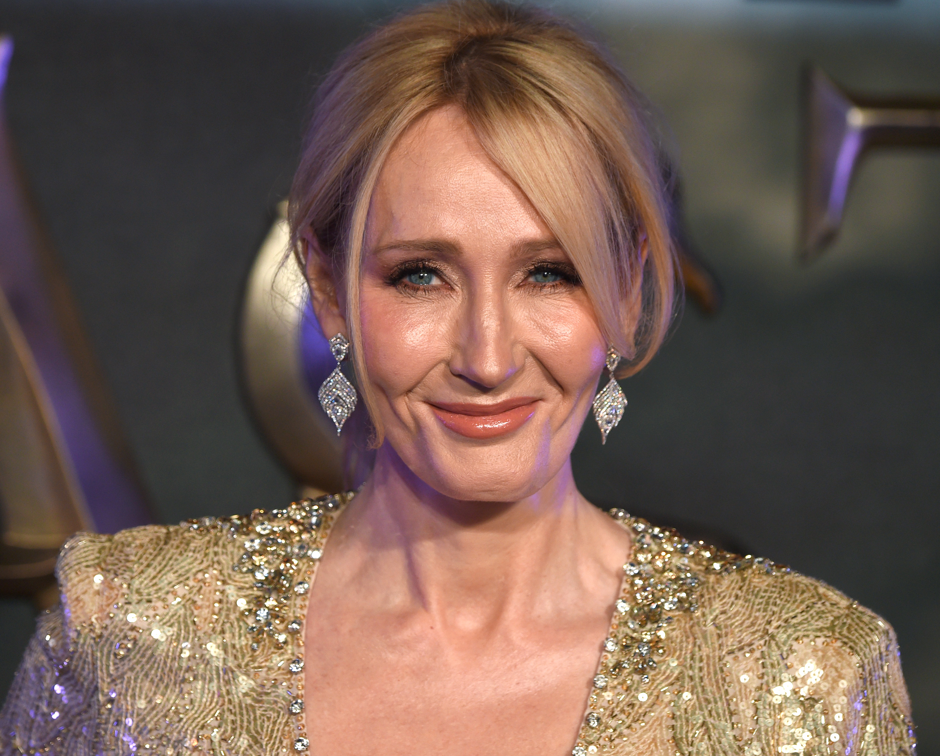 J.K. Rowling attends the European premiere of  Fantastic Beasts And Where To Find Them  at Odeon Leicester Square on November 15, 2016 in London, England.