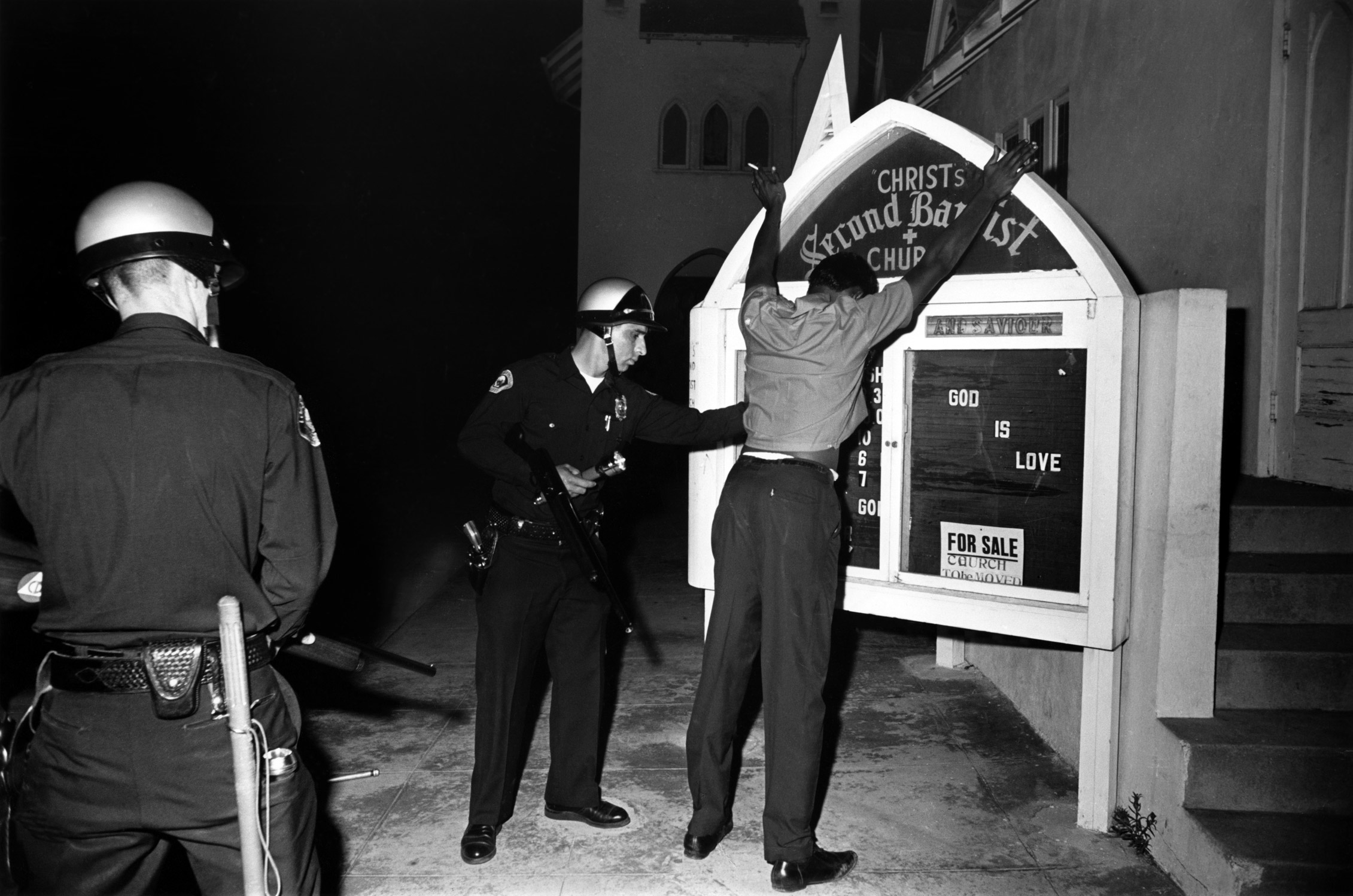 Watts Riots, Los Angeles, 1966.