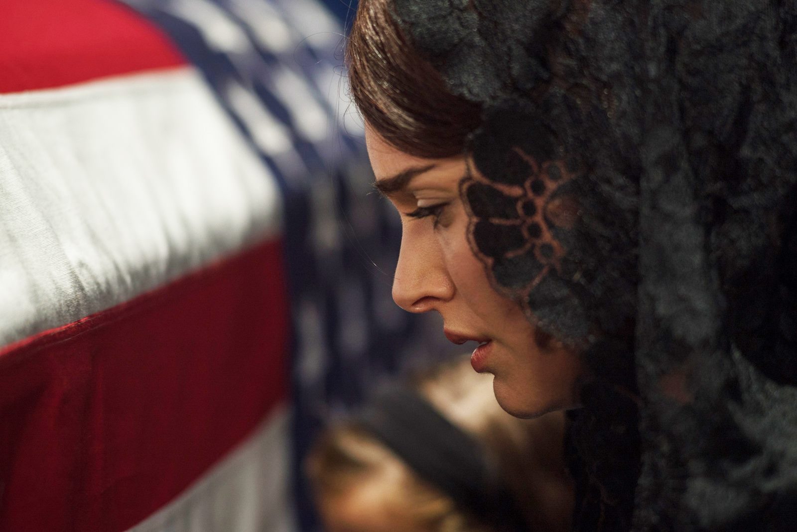 Natalie Portman as Jackie Kennedy.